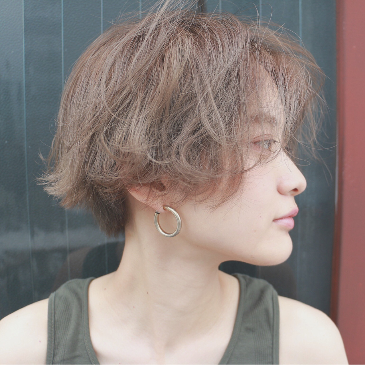 ストリート 外国人風 ショート ショートボブ ヘアスタイルや髪型の写真・画像