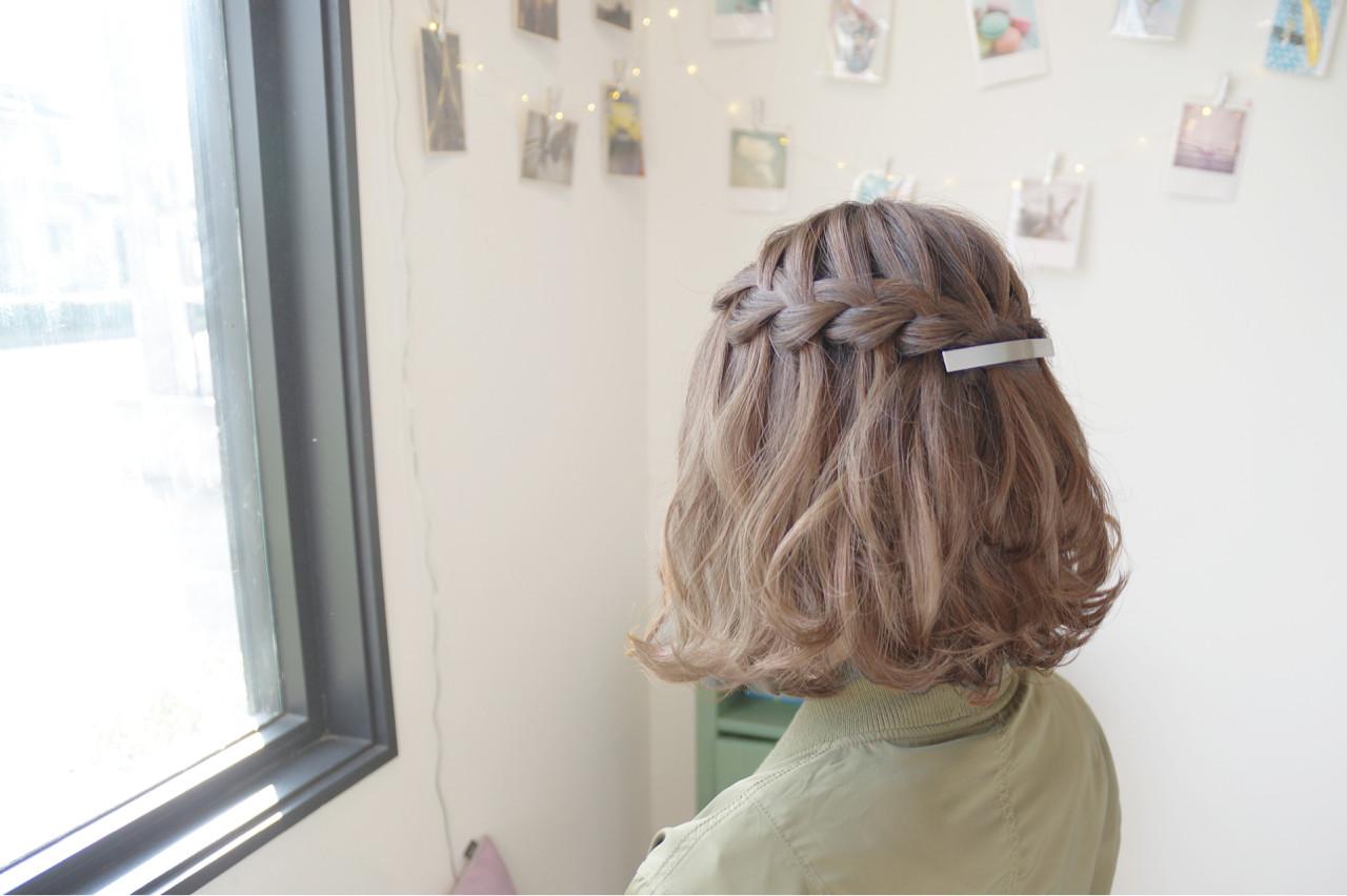 結婚式 ヘアアレンジ 色気 二次会 ヘアスタイルや髪型の写真・画像