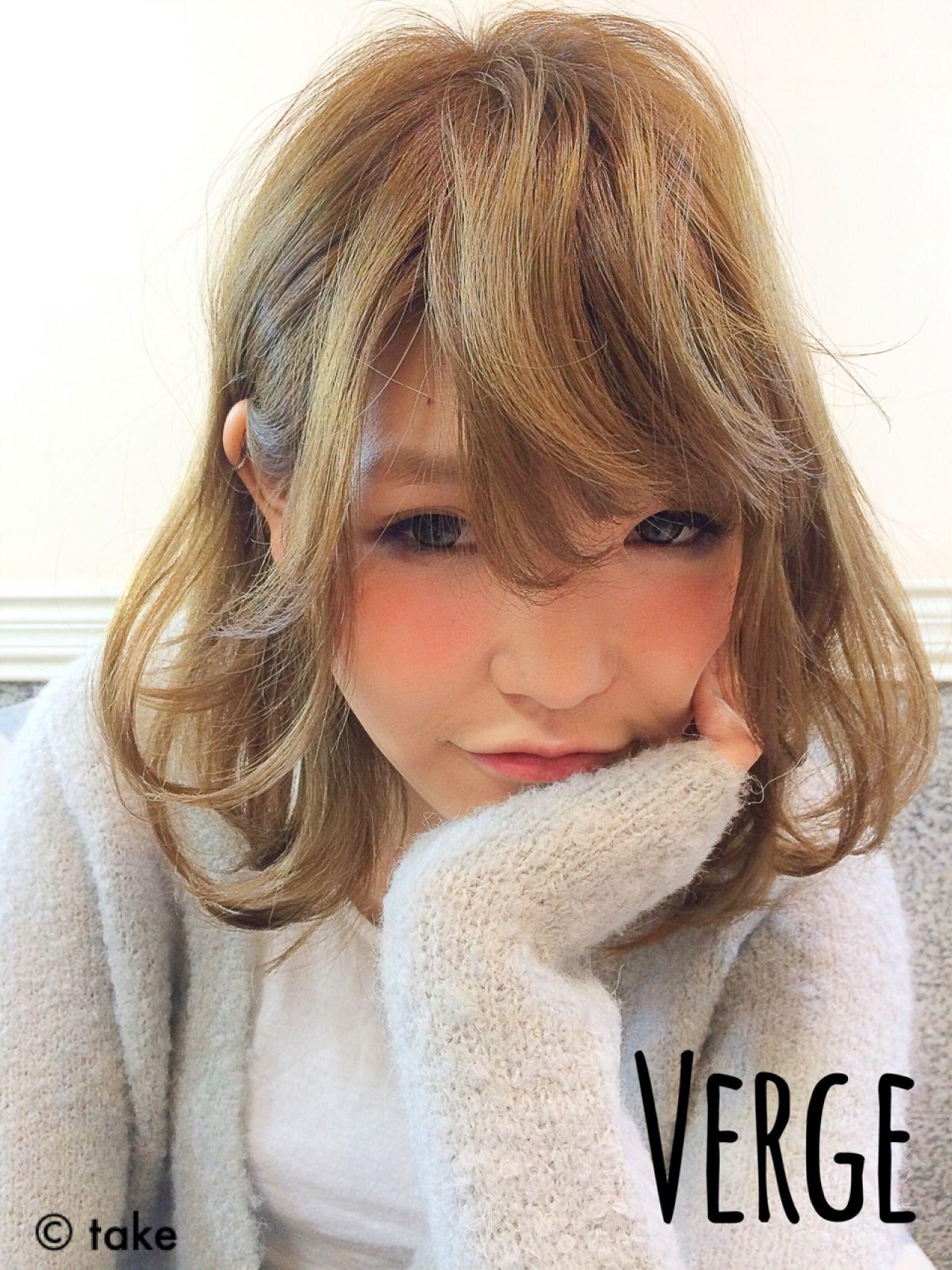 アッシュグレージュ ワンカール ナチュラル 大人かわいい ヘアスタイルや髪型の写真・画像