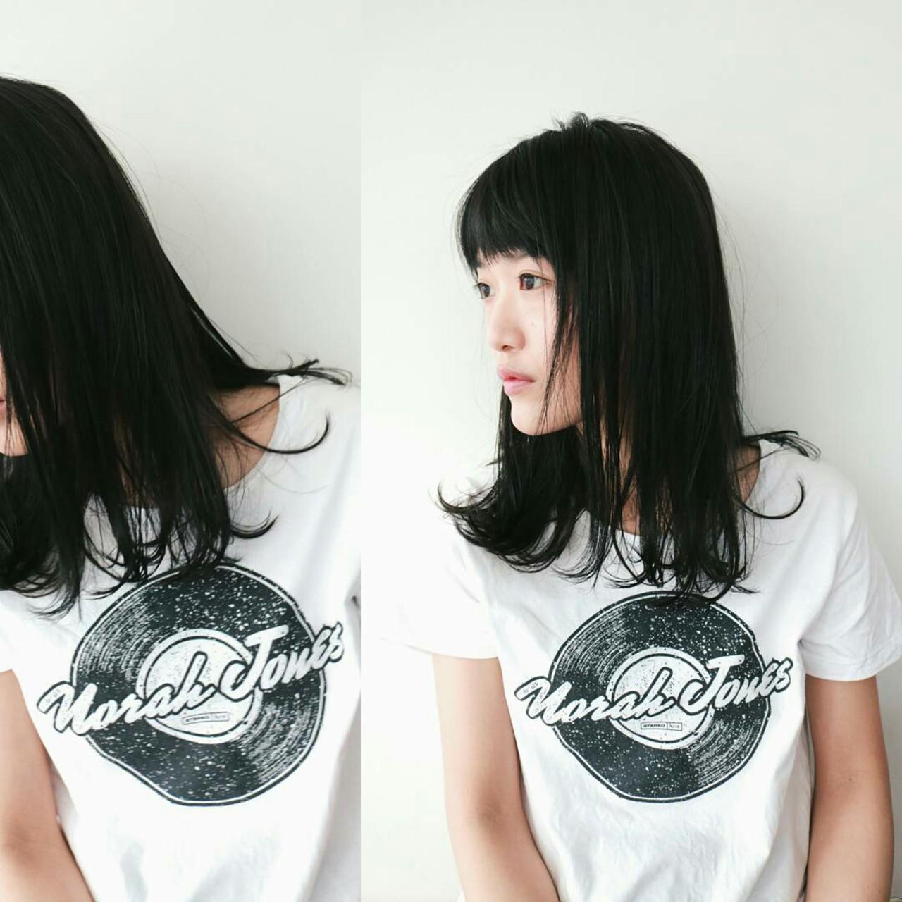 大人女子 デート 前髪あり こなれ感 ヘアスタイルや髪型の写真・画像