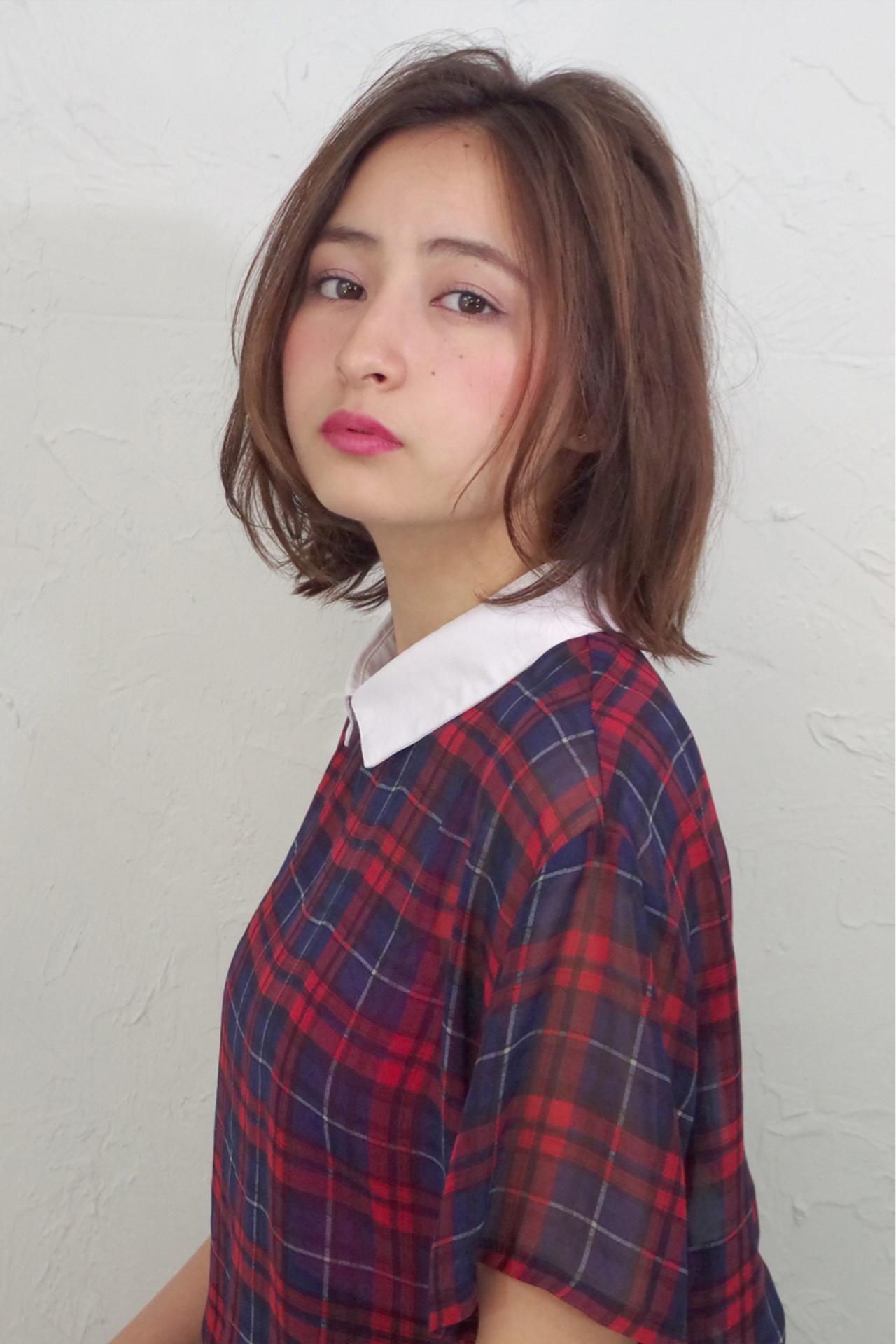 ゆるふわ 大人かわいい モテ髪 ローライト ヘアスタイルや髪型の写真・画像