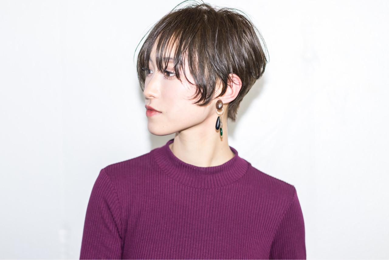 抜け感 ニュアンス 前髪あり こなれ感 ヘアスタイルや髪型の写真・画像