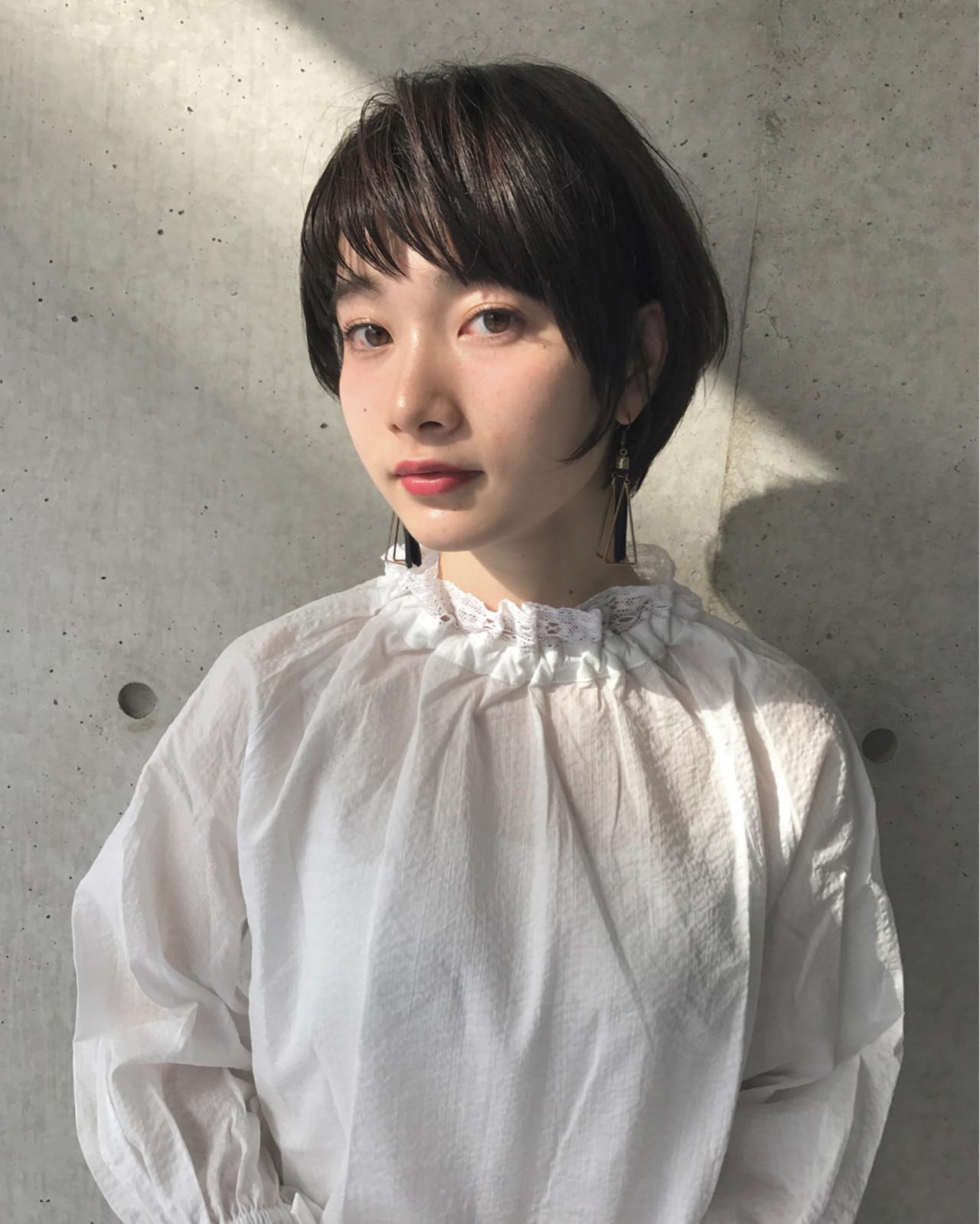 ボブ 色気 ニュアンス 大人女子 ヘアスタイルや髪型の写真・画像 | 前田賢太 HOULe 表参道 / HOULe