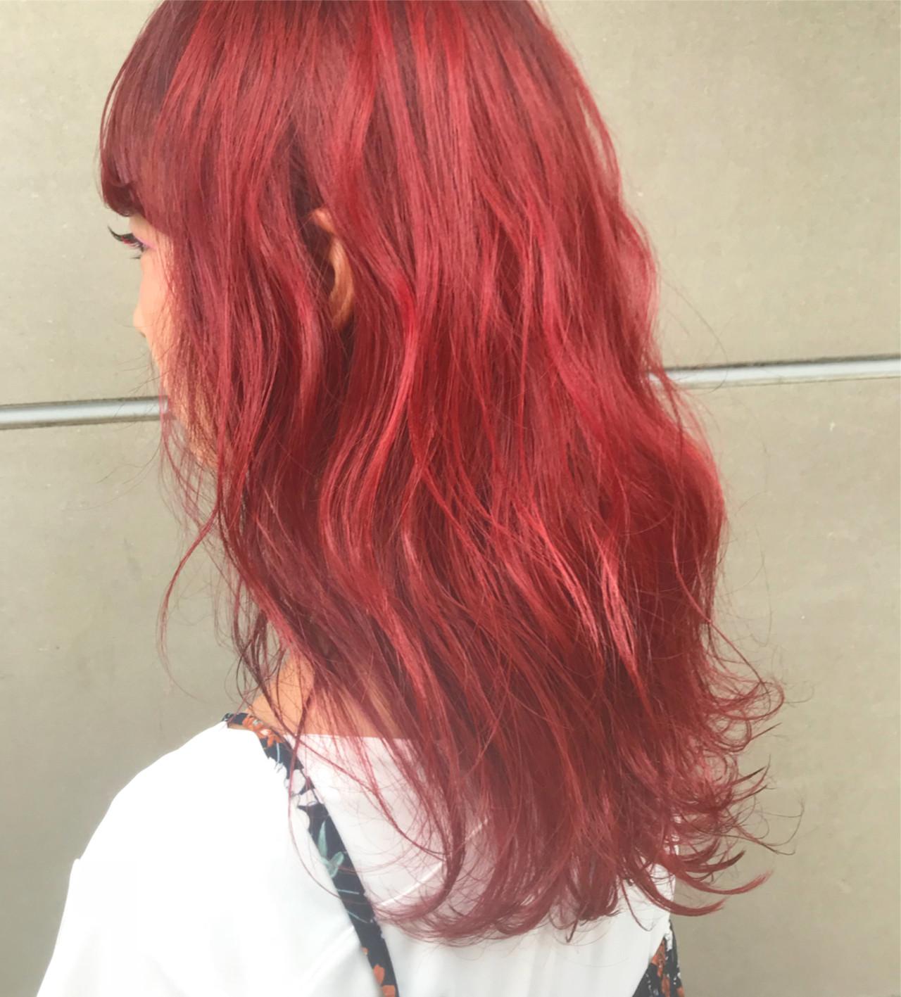 ロング 透明感 ストリート ゆるふわ ヘアスタイルや髪型の写真・画像