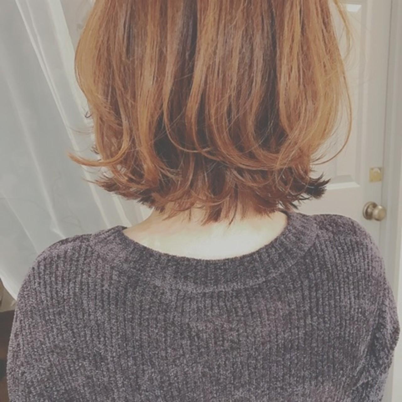 大人かわいい モード デート 外ハネ ヘアスタイルや髪型の写真・画像