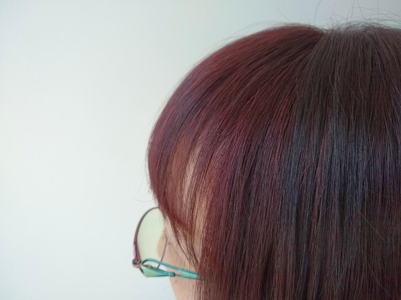 艶髪 ハイライト 白髪染め ナチュラル ヘアスタイルや髪型の写真・画像