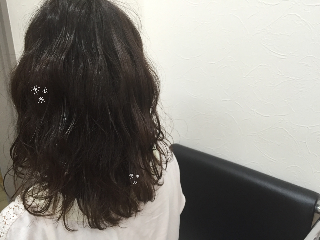 ウェットヘア 透明感 波ウェーブ アッシュ ヘアスタイルや髪型の写真・画像