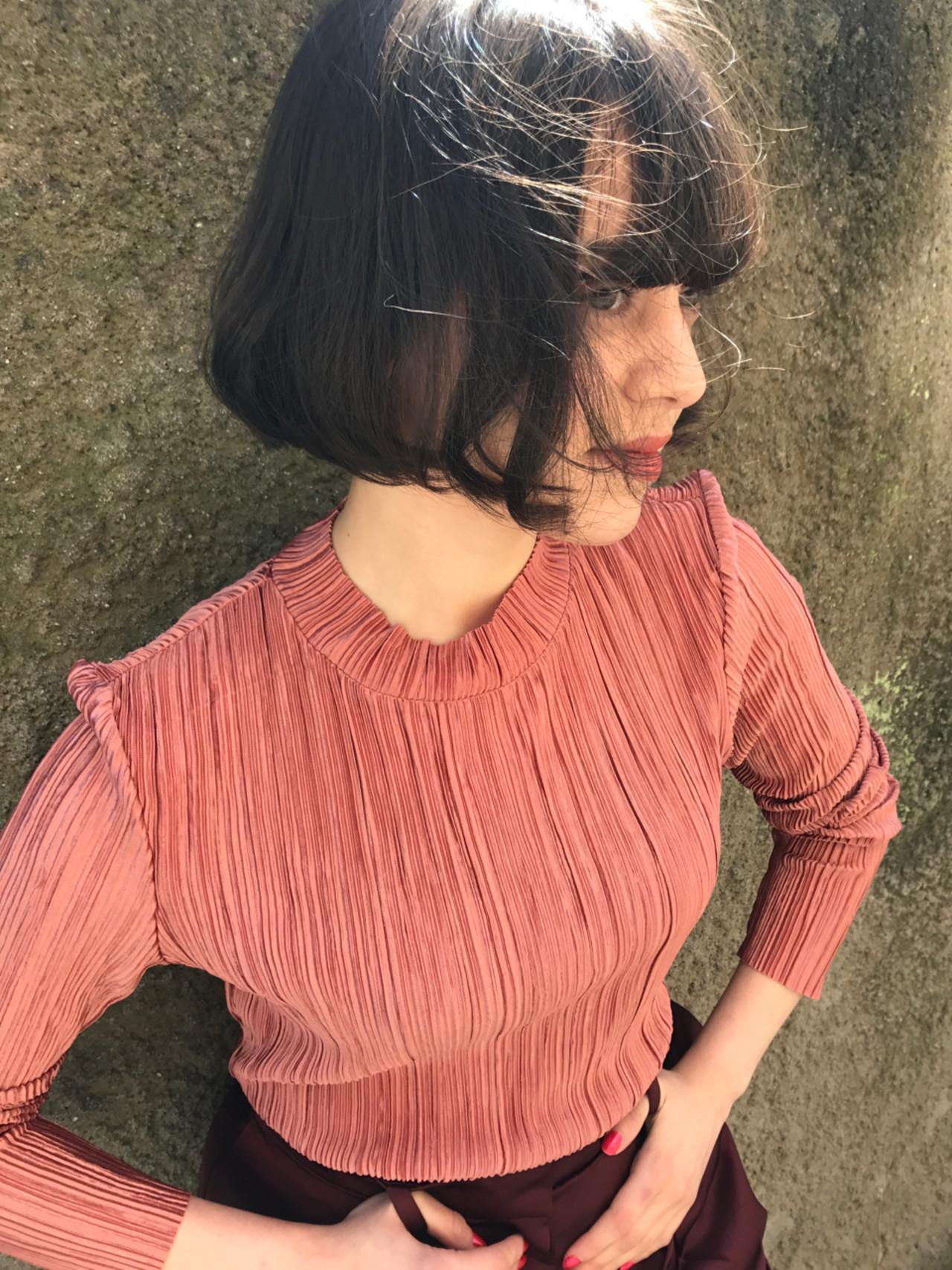 透明感 大人かわいい 抜け感 秋 ヘアスタイルや髪型の写真・画像