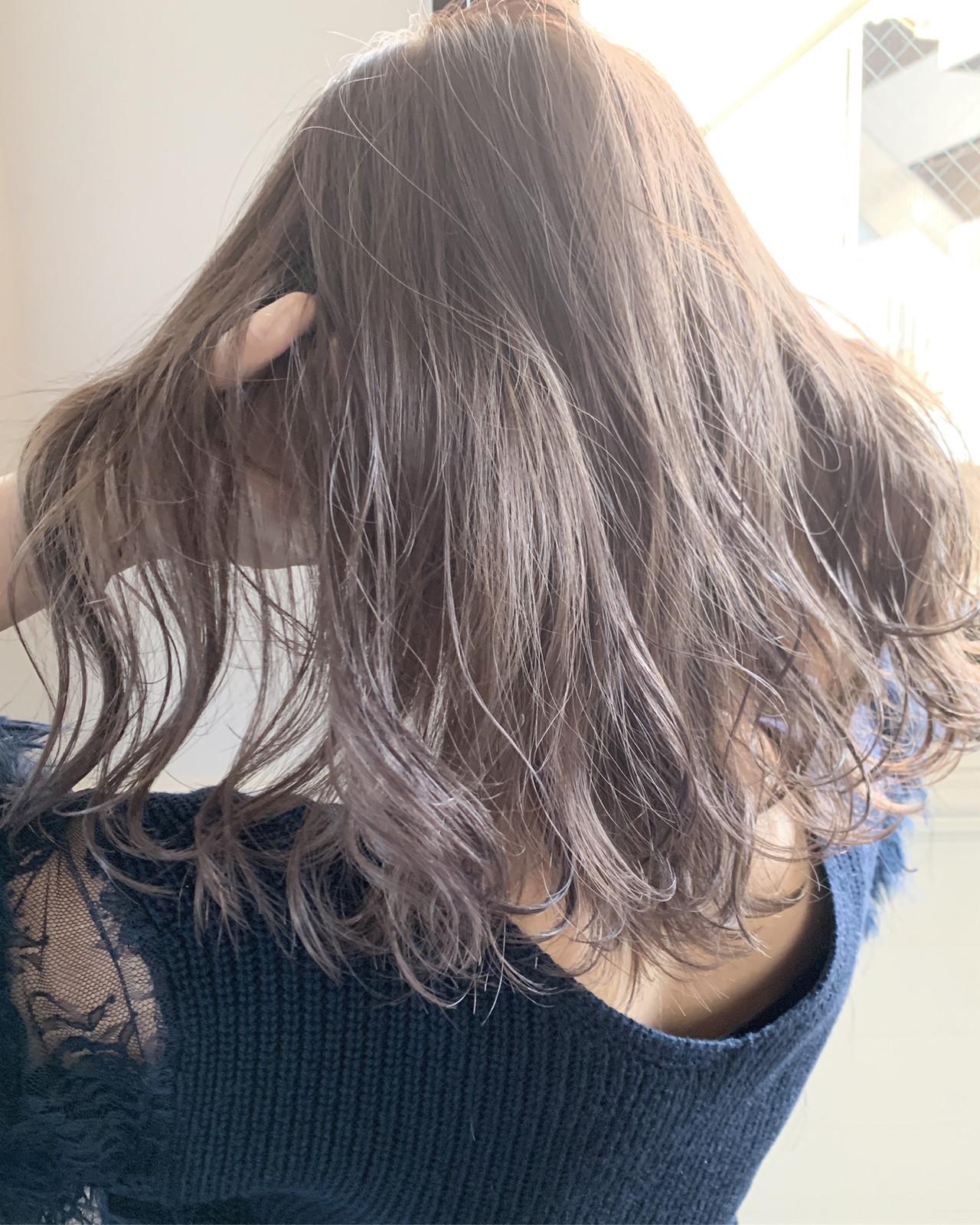 ショートボブ ベリーショート ミディアム ウルフカット ヘアスタイルや髪型の写真・画像