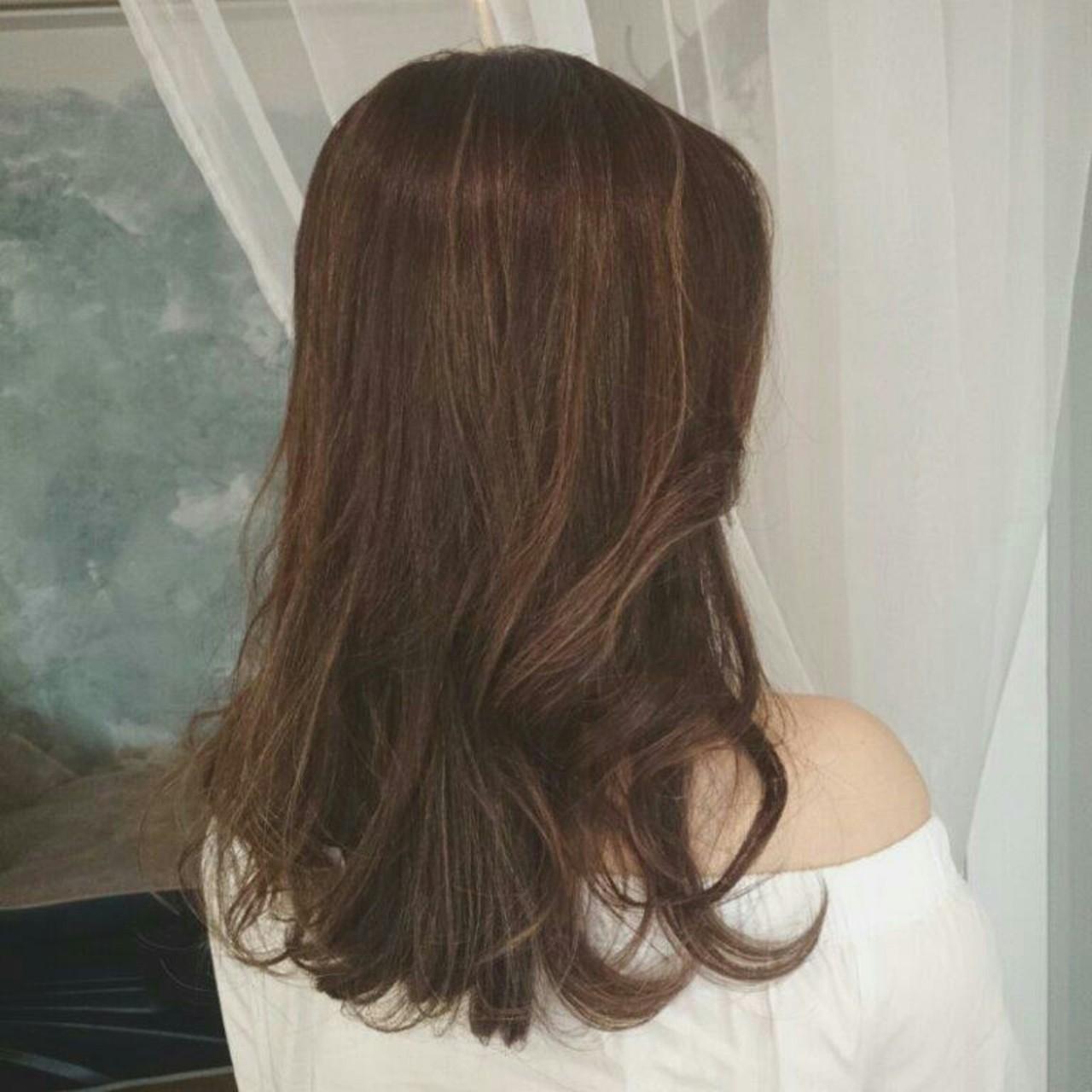 ウェーブ ヘアアレンジ ロング エレガント ヘアスタイルや髪型の写真・画像
