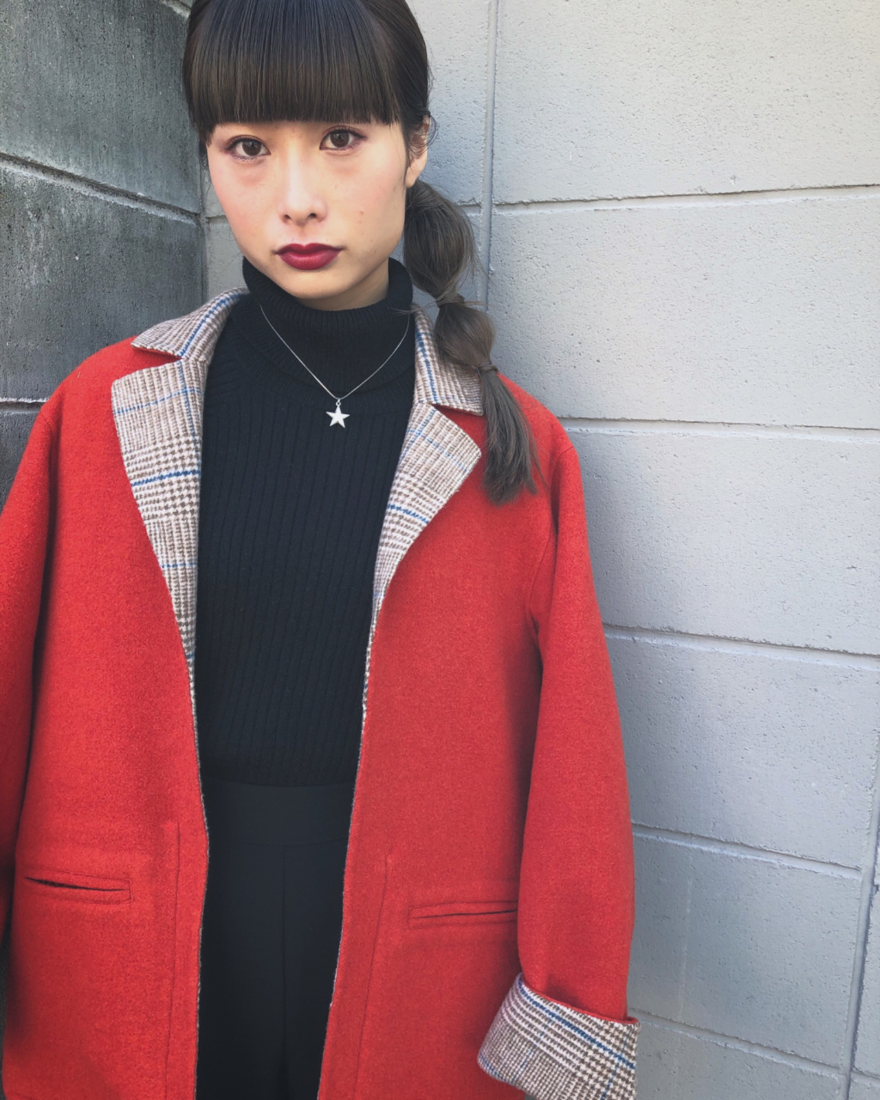 冬 ヘアアレンジ 簡単ヘアアレンジ モード ヘアスタイルや髪型の写真・画像   Takashi Tetone / SHIKIO HAIR DESIGN