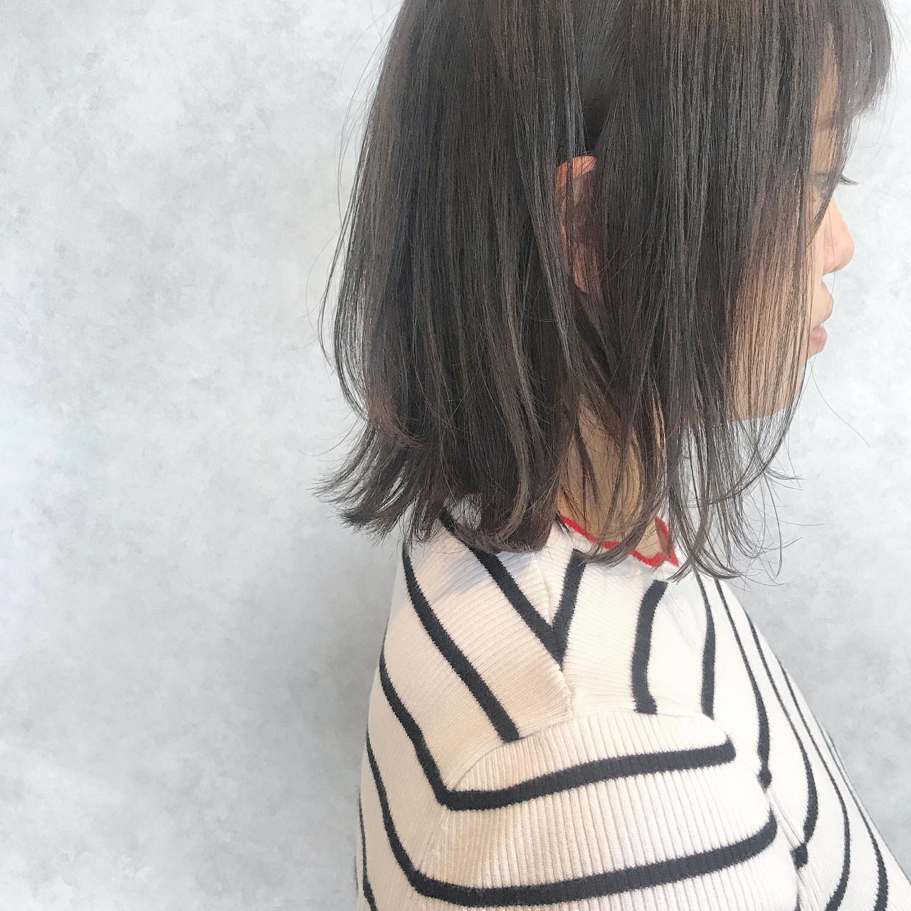 ヘアアレンジ ボブ オフィス 夏 ヘアスタイルや髪型の写真・画像 | 北田 ゆうすけ / December/