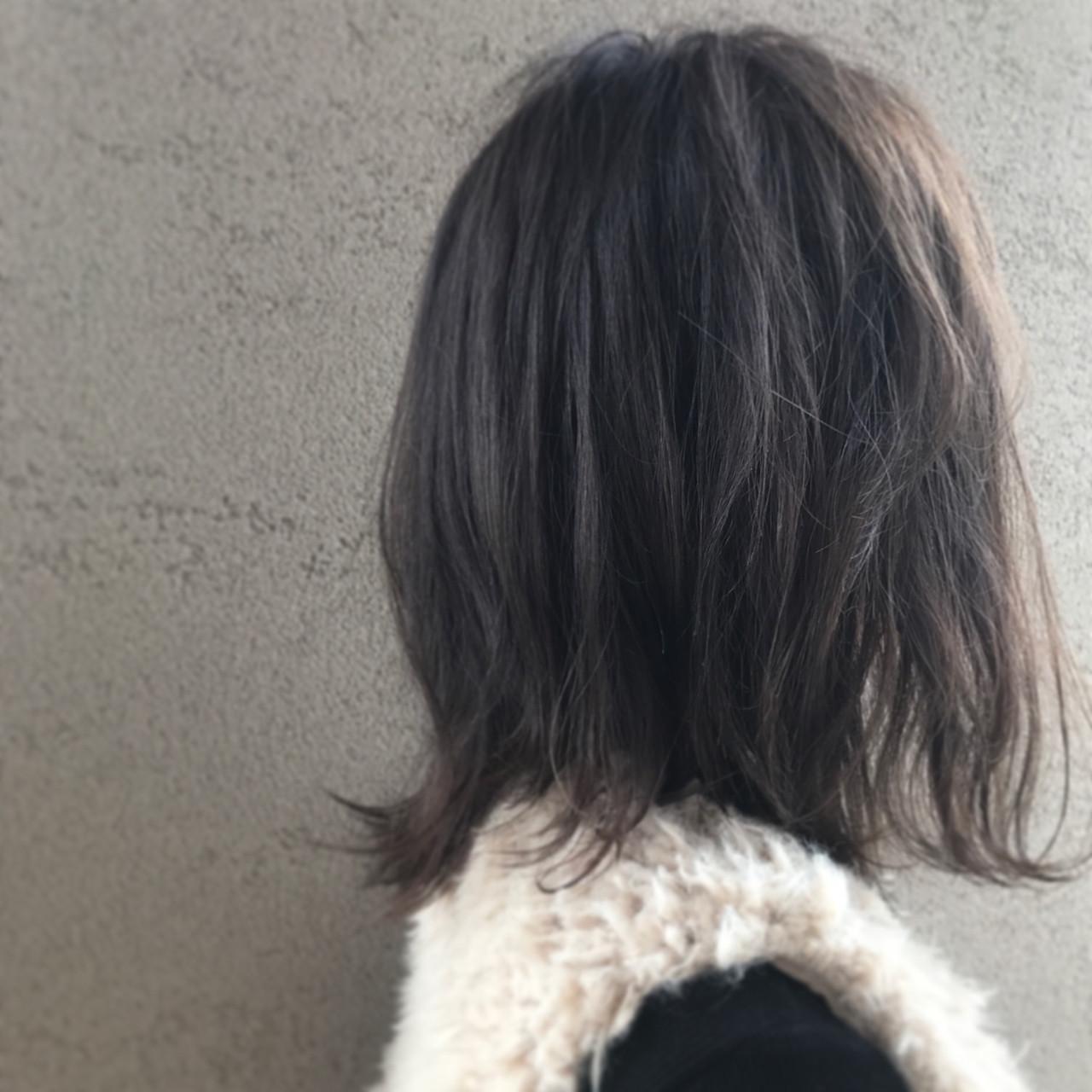 アンニュイ ボブ モード 透明感 ヘアスタイルや髪型の写真・画像