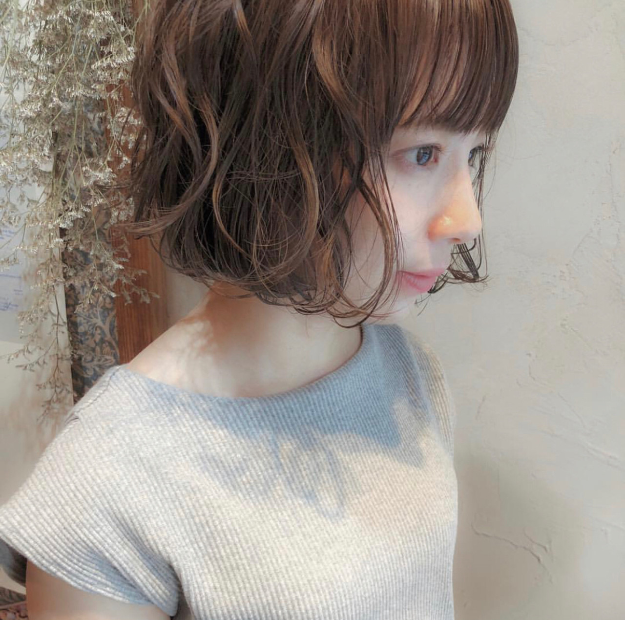 簡単ヘアアレンジ デート ハイライト アンニュイほつれヘア ヘアスタイルや髪型の写真・画像
