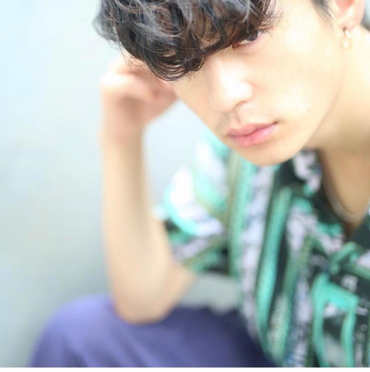 メンズマッシュ メンズショート ショート メンズカジュアル ヘアスタイルや髪型の写真・画像 | 澤江 啓司 / K-two KYOTO