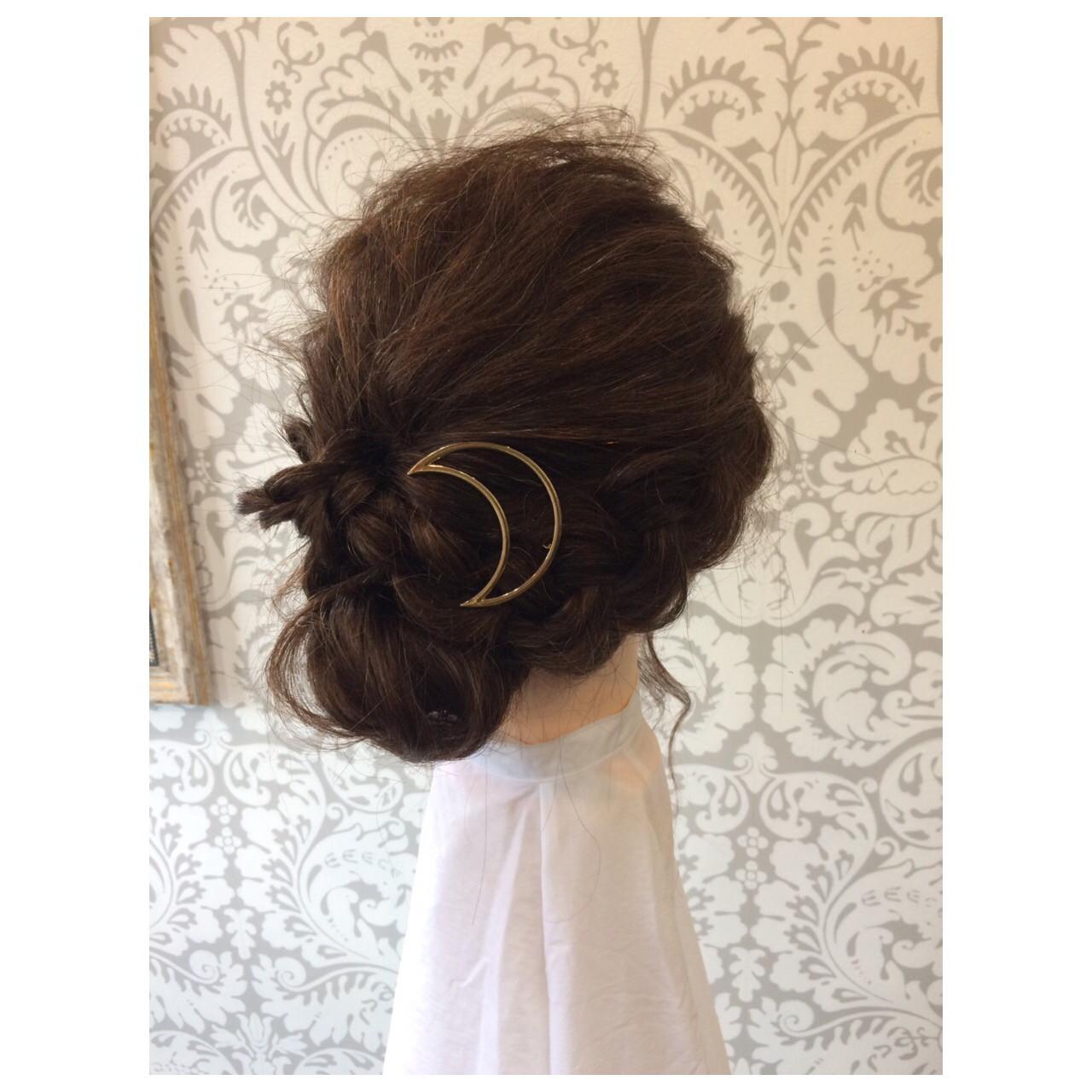ミディアム ルーズ ナチュラル モテ髪 ヘアスタイルや髪型の写真・画像