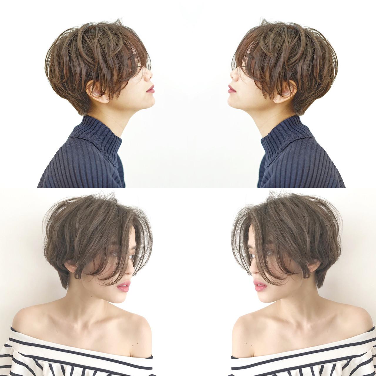 """ショートヘアは『正面』よりも『サイド』からのバランスが見られている⁉️? . . . ヘアスタイルって正面から見た時に似合っているのはもちろんですが、横から見た時の丸みや動きが似合っていると、周りから褒められる事が多いです❗️ . . . 特にショートヘアの場合は、サイドから見た時のバランスが良い事が絶対に大切✂️✨ . . . サイドのバランスで人に与える印象も変わります? . . . . 『✂️ショートヘアのサイドのバランス✂️』 . ①『丸みが高い』 . 最近人気なハンサムショートヘアは丸みが高めな事が多いです❗️ . . . 丸みが高めな事で縦長に見えて、スタイリッシュでカッコいい雰囲気になります⭐️ . . . クールな感じやカッコいい雰囲気が好きな方にオススメです? . . . . ②『丸みが中間』 . 1番シンプルなのが丸みの位置が頭の中間にあるバランスです❗️ . . . 髪の重なりが作りやすく、骨格をカバーしやすいのが特徴? . . . 日本に多い""""絶壁頭""""もカバーしやすく、丸みのある綺麗なシルエットになります?♀️ . . . . ③『丸みが低め』 . 女性らしいショートヘアにしたい方は""""丸み低め""""がオススメです❗️ . . . ボブよりはスッキリしつつも、ショートヘアよりは長めのバランスになります⭐️ . . . ショートボブと呼ばれる事が多く、""""ボブには飽きたけど、ショートにするのは不安!""""という方から人気が高いです? . . . . ✅ショートヘアで失敗したくない. ✅スタイリングを簡単にしたい(まとまり良く、広がりにくい). ✅女性らしいショートヘアにしたい. ✅骨格をカバーしたい(絶壁、ハチ張り). ✅360度どこから見ても綺麗なシルエットが良い. ✅似合うショートヘアがわからない. ✅他のサロンでショートヘア失敗された. . 等という方は 『 #美容師ナカイヒロキ にお任せ下さい❗️』 . . . 『9割以上のお客様がショートヘア✂️』 . 僕の担当しているお客様の9割以上がショートヘア〜ボブスタイル? . . . 特に20〜30代の女性のお客様が多いです? . . . 初めてショートヘアにする方などは『絶対に失敗出来ないから!』と言って、わざわざ遠くから武蔵小杉まで来て頂く事も多いです? . . . 最近はインスタを、見てご来店される方がとても増えてます❗️ . . . そんな状況を本当に嬉しく思っていて、期待に応えられる様に1人ひとりと真剣に向き合ってカットしてます✂️ . . . 僕の作ったショートヘアはこちらをご覧下さい 【 #中井ショート 】 . . . . 【美容師歴7年】. . 同世代では1番早い、1年8ヶ月でスタイリストデビュー後、ショートヘアに特化してきました✂️ . . . ショートヘアに拘りを持ち続けた結果、新規指名数&ショートヘアのオーダー率は全店No.1❗️ . . . 360度どこから見ても、丸みのある綺麗なショートヘアが得意です✨ . . . ショートヘアは正面だけではなく、サイドや後ろ姿も大切だと思います❗️ . . . . 『✂️実績✂️』 . 『TOKYO BEAUTY CONGRESS 2015』 審査員賞. 『TOKYO BEAUTY CONGRESS 2015』 ジャーナル賞. 『TOKYO BEAUTY CONGRESS 2016』準グランプリ. 『TOKYO BEAUTY CONGRESS 2016』 審査員賞. 『HAIR COLOR LIVE CONTEST 2017』 優秀賞. 『 hoyu×ar カラコレ'16 ar賞』. 『 hoyu×ar カラコレ'17 いいね賞』 . その他、社内外で多数受賞❗️ . . . サロンでお客様の髪をカットしているのが1番好きですが、全国の美容師同士がテクニックやデザインを競い合うヘアコンテストもワクワクするので好きです? . . . コンテストで競い合った、テクニックや拘りが今の自分のベースになってます❗️ . . . . 『✨ご予約方法はこちら✨』. . 『?WEB予約の場合?』. プロフィールのURLから24時間好きな時にWEB予約が出来ます?. . ホットペッパー等には掲載していないので、WEB予約は公式HPからのみ可能です? . . . 『☎️電話予約の場合☎️』. プロフィール欄の""""電話する""""ボタンを押して頂くか、☎︎044-863-9808までお願い致します✨ . 予約専門のレセプションがご対応させて頂きます?♀️ ※WEB予約が埋まっている場合でも、電話をして頂ければ予約が取れる事があります。 . . . カット6600円. . カラー(一色染め)9100円〜. . カラー(ハイライト)61"""