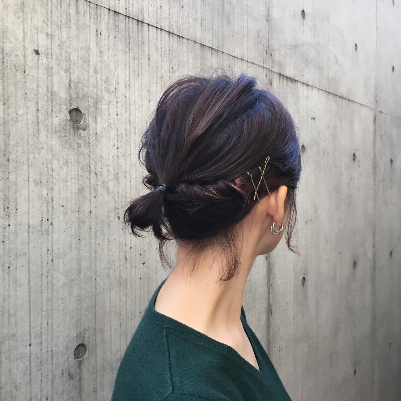 ボブ オフィス デート ナチュラル ヘアスタイルや髪型の写真・画像 | 中尾 寿揮 / Anna Lanna