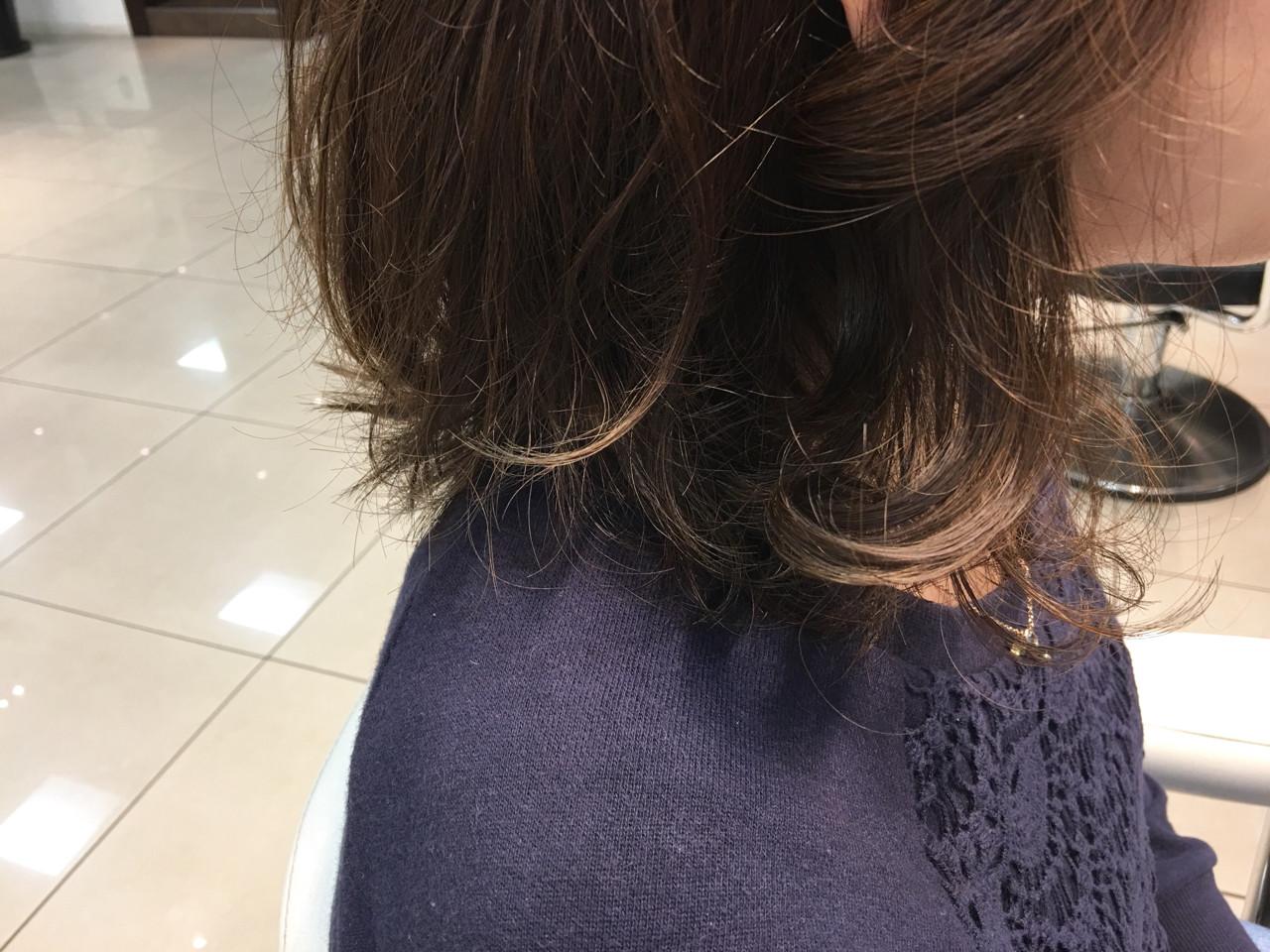 ゆるふわ ストリート 外国人風 グラデーションカラー ヘアスタイルや髪型の写真・画像 | KENJE南林間 二宮早智子 / ケンジ(KENJE)南林間