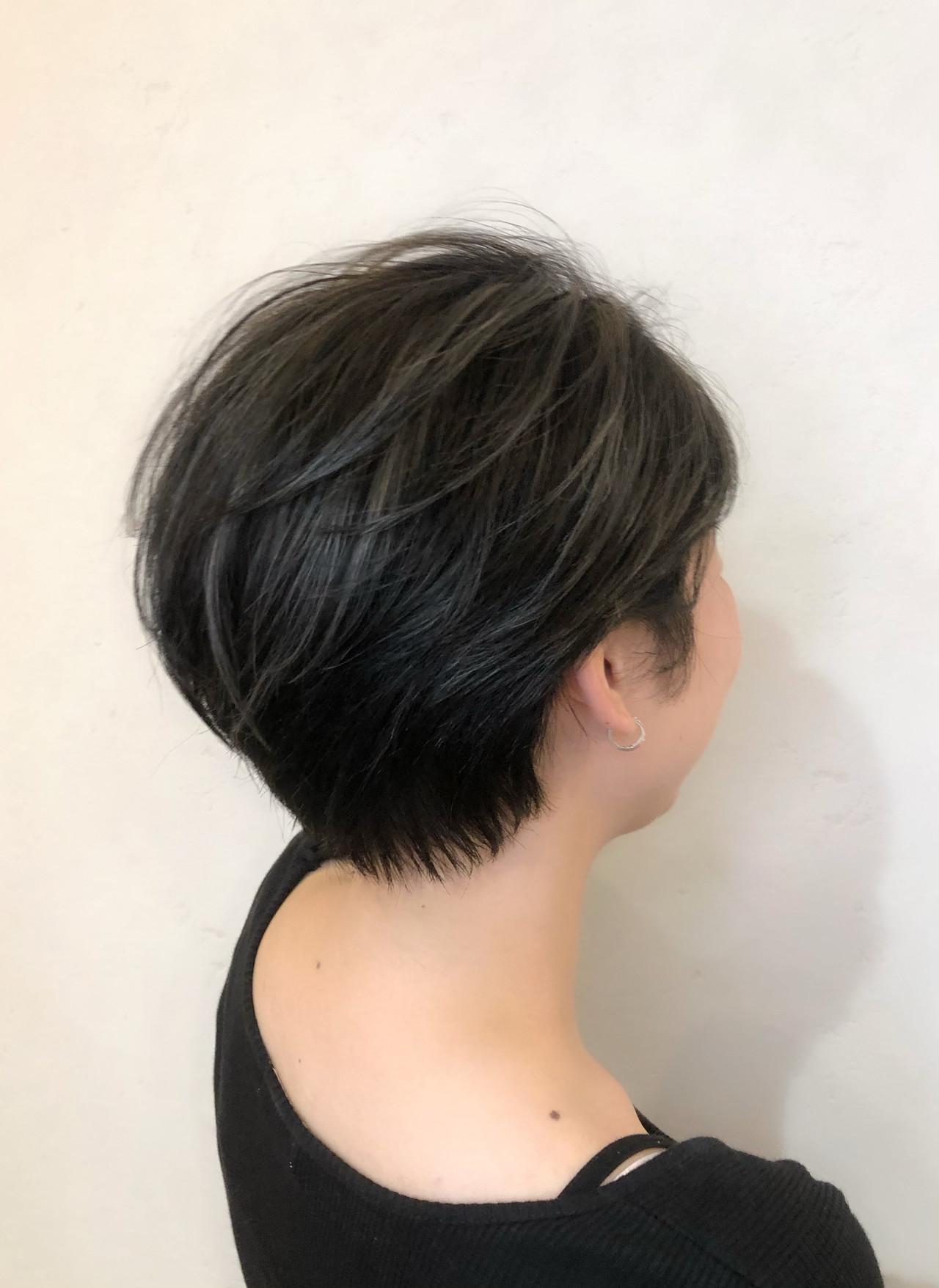 ショートヘア ストリート ハンサム ハンサムショート ヘアスタイルや髪型の写真・画像