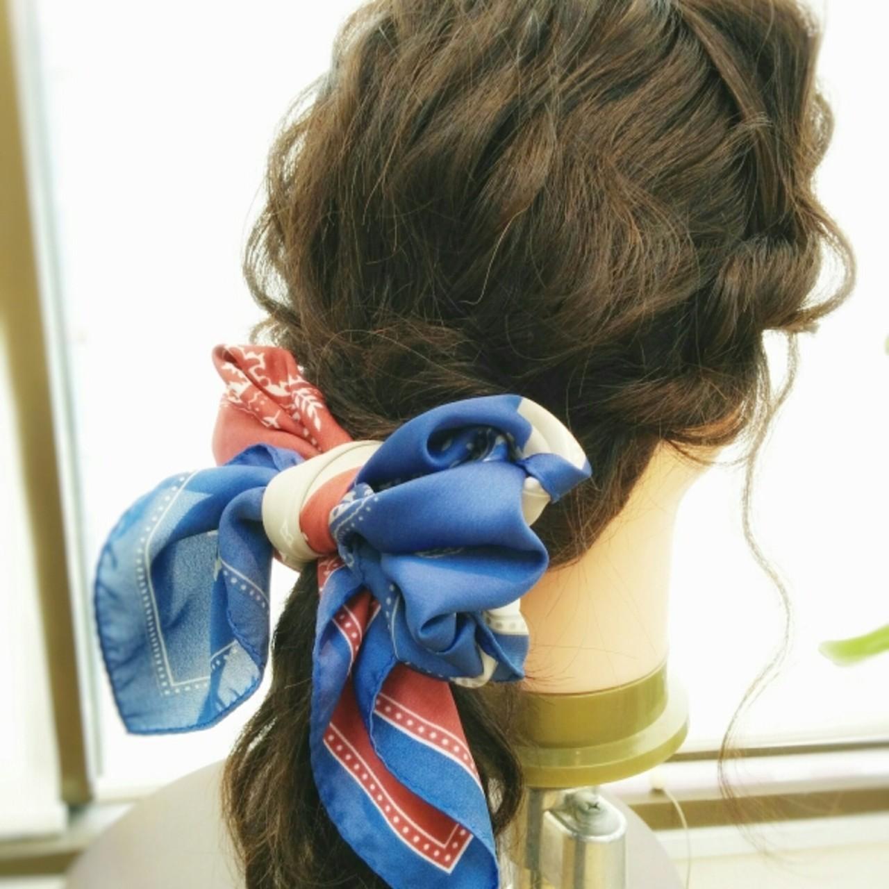 ヘアアレンジ 大人かわいい ショート ミディアム ヘアスタイルや髪型の写真・画像