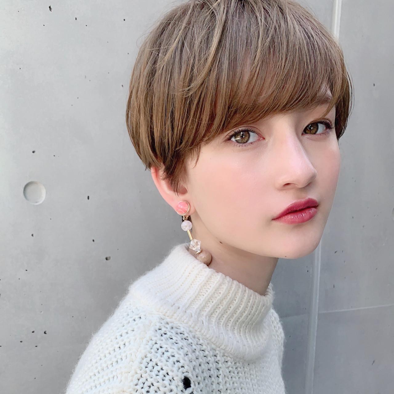 オフィス ショート パーマ ヘアアレンジ ヘアスタイルや髪型の写真・画像 | ショートボブの匠【 山内大成 】『i.hair』 / 『 i. 』 omotesando