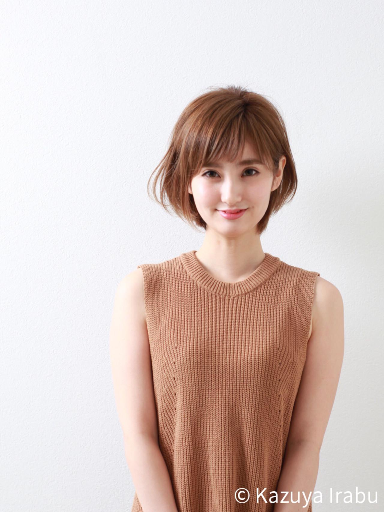 色気 フリンジバング こなれ感 小顔 ヘアスタイルや髪型の写真・画像 | Kazuya Irabu / アービング