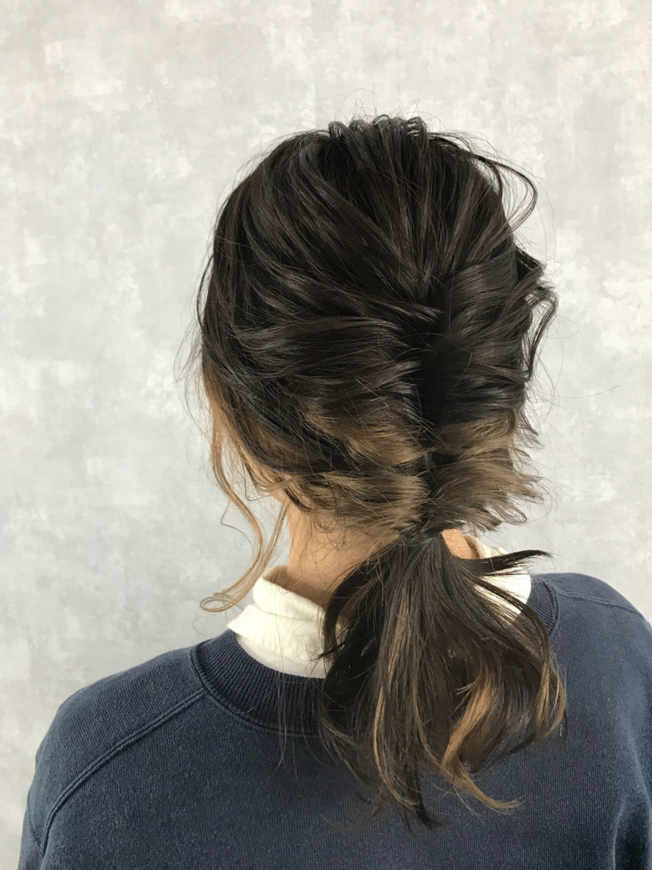 愛され ストリート セミロング ヘアアレンジ ヘアスタイルや髪型の写真・画像
