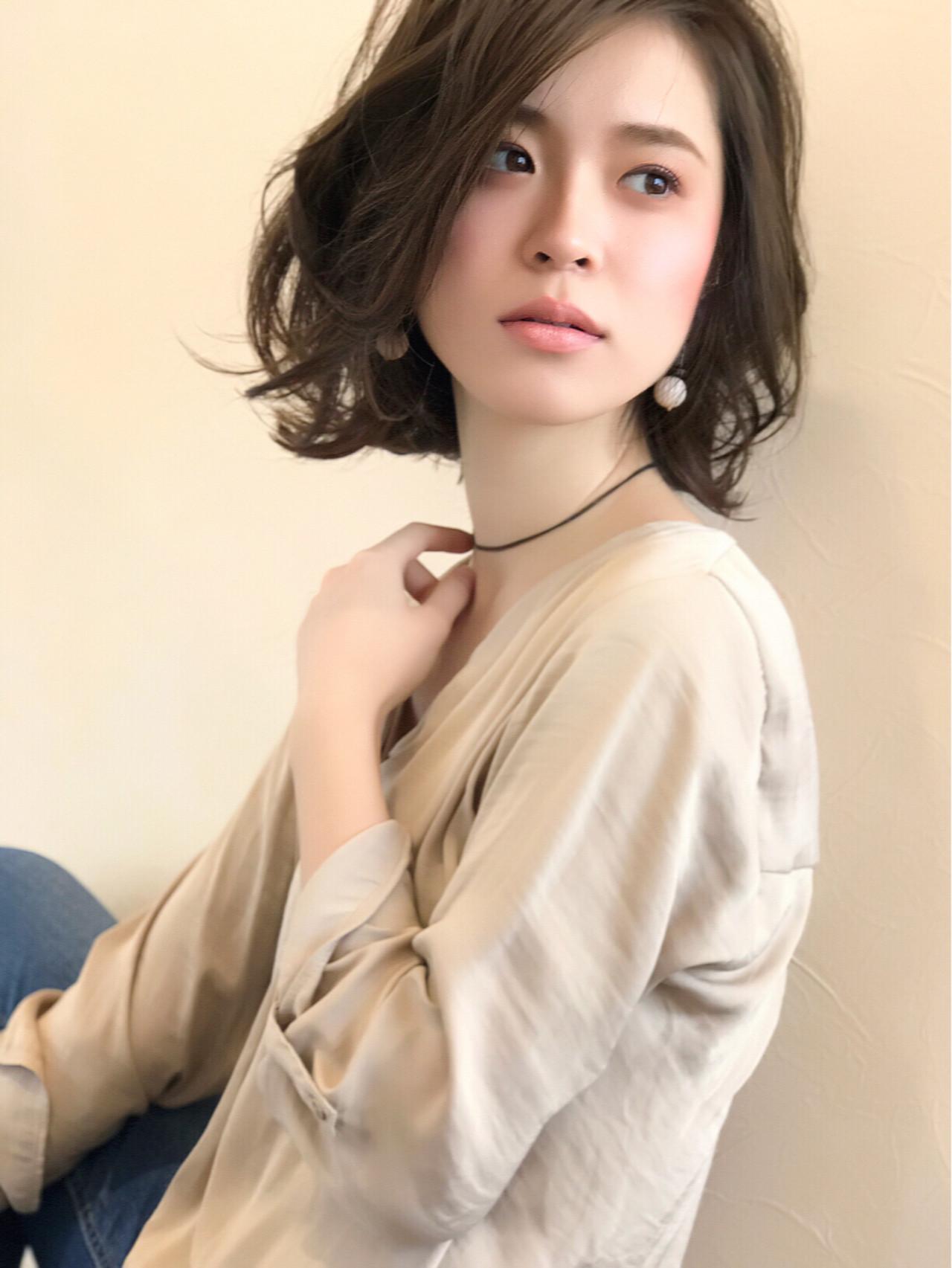 ナチュラル 透明感 大人女子 外国人風 ヘアスタイルや髪型の写真・画像 | 中川 貴博 / MISTEROMA