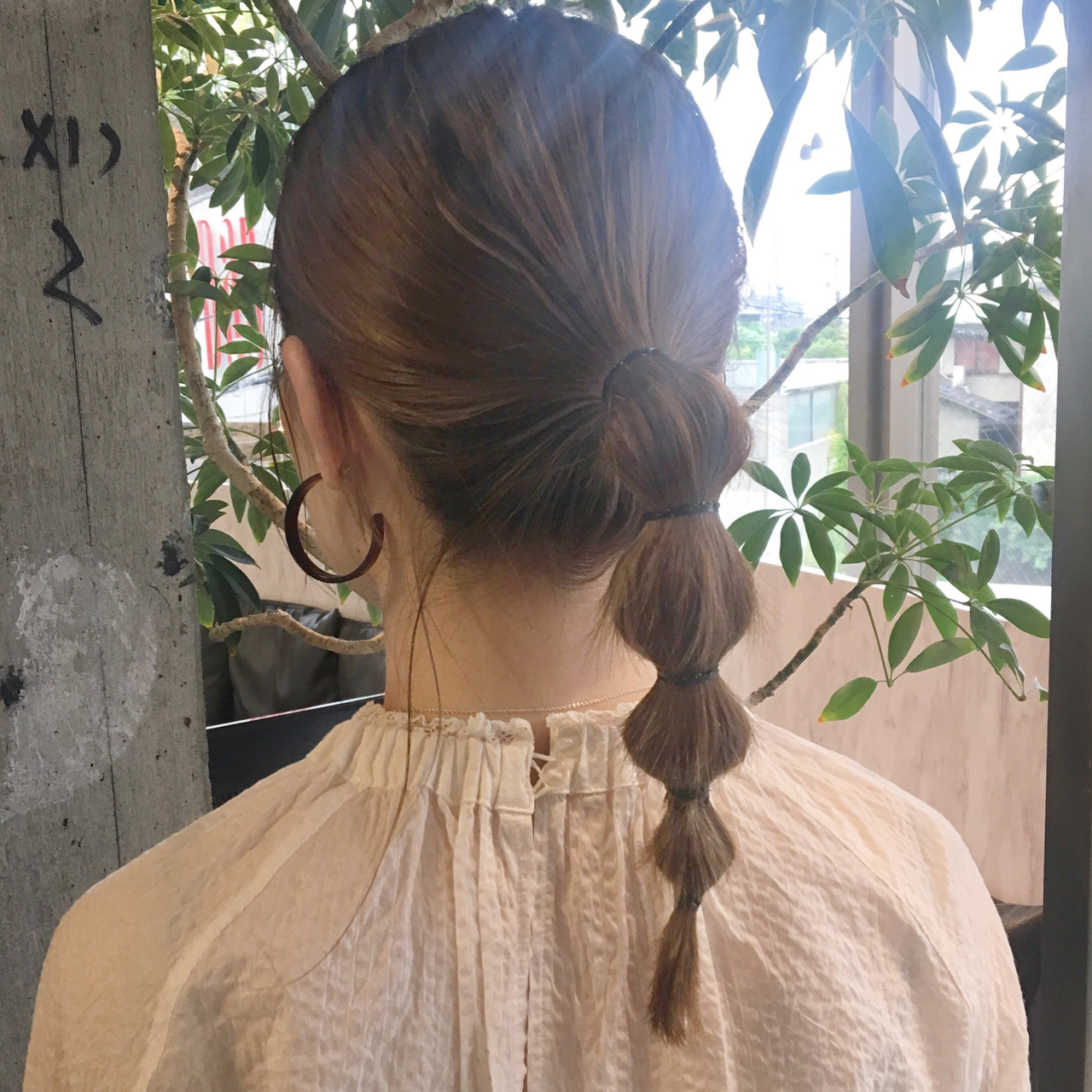 簡単ヘアアレンジ ヘアアレンジ ミディアム 成人式 ヘアスタイルや髪型の写真・画像   江連香純 / circus by beautrium