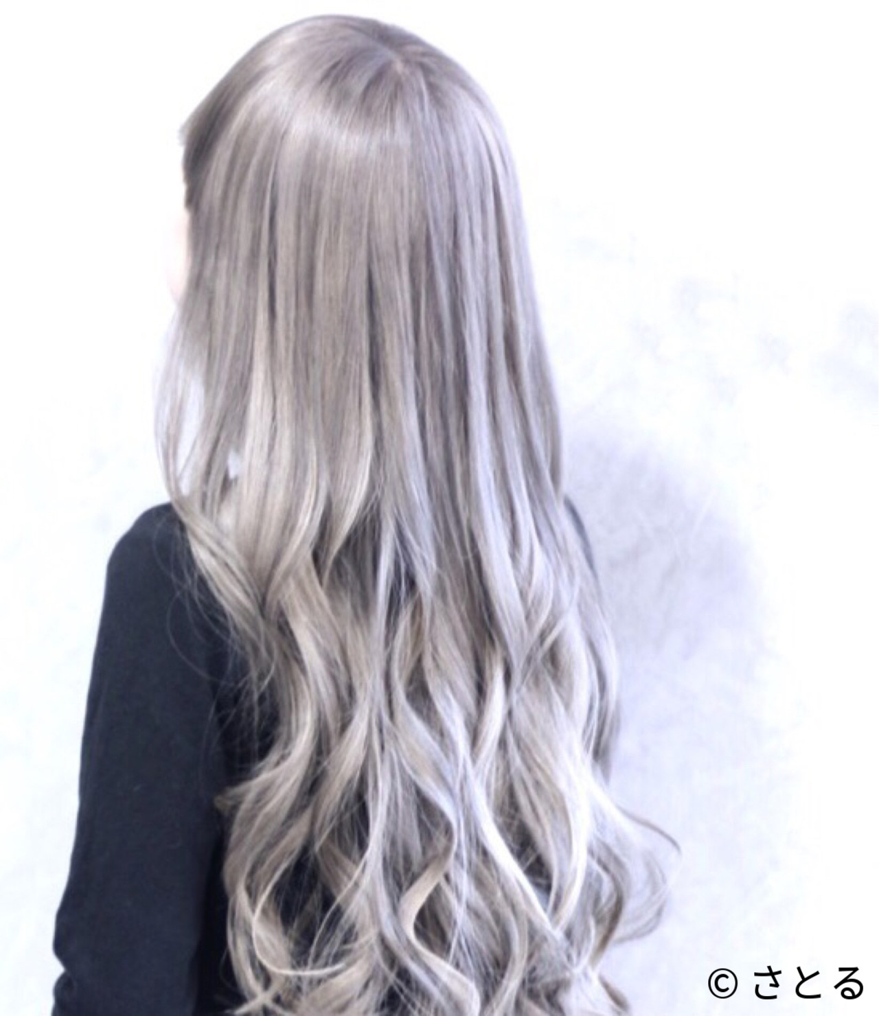 エレガント ハイトーン 上品 ロング ヘアスタイルや髪型の写真・画像 | イチマル サトル / Oz  Umeda
