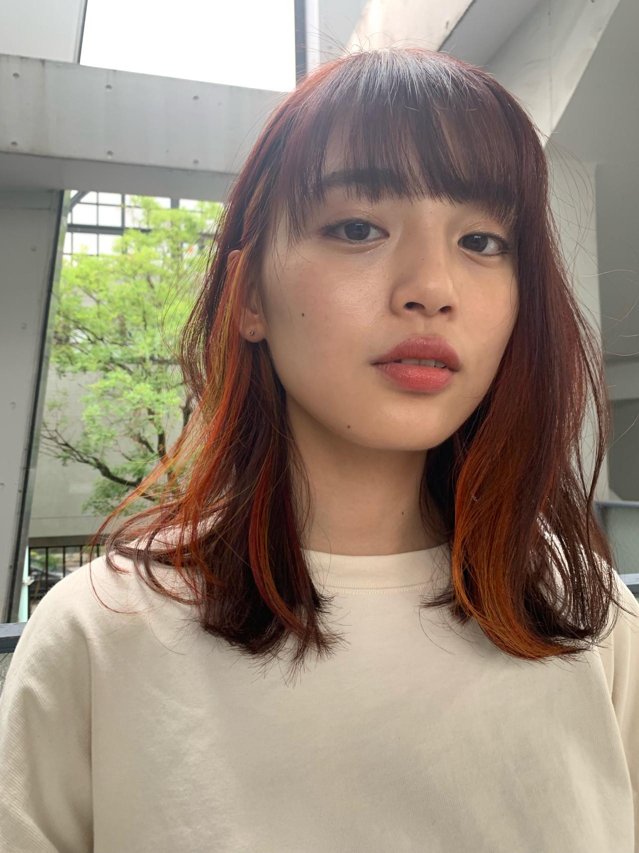 デート ボブ 簡単ヘアアレンジ ガーリー ヘアスタイルや髪型の写真・画像 | 井上 彩 / Luxe