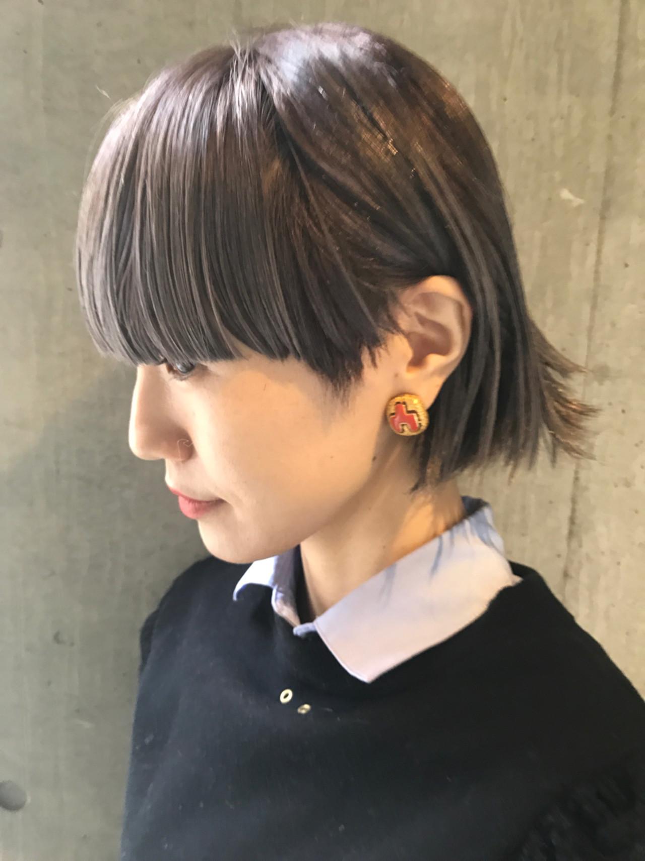 パーティ ヘアアレンジ モード エフォートレス ヘアスタイルや髪型の写真・画像 | bibito crew / bibito