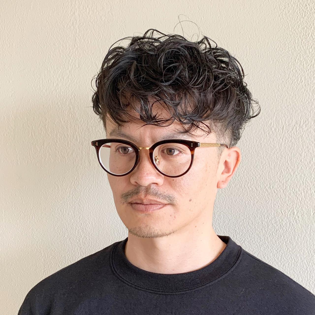 メンズヘア メンズショート メンズカット ショート ヘアスタイルや髪型の写真・画像 | 大橋 史明 / BRICK.S