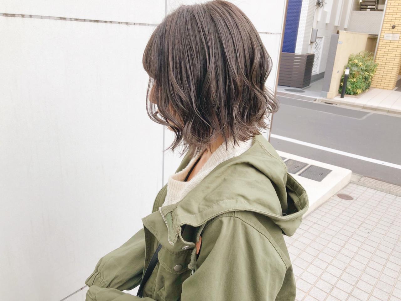 ヘアアレンジ 簡単ヘアアレンジ ボブ ストリート ヘアスタイルや髪型の写真・画像