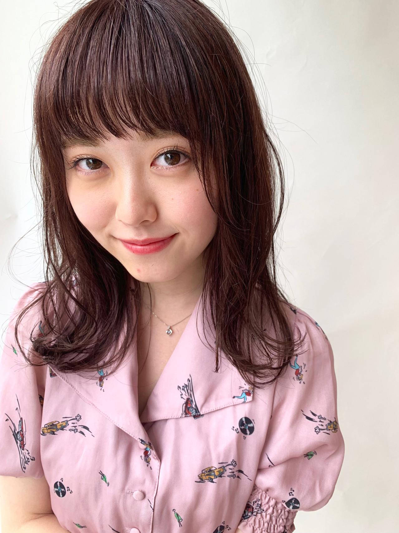 簡単ヘアアレンジ ピンクベージュ ピンクブラウン ヘアアレンジ ヘアスタイルや髪型の写真・画像 | 小椋聡太 / tricca
