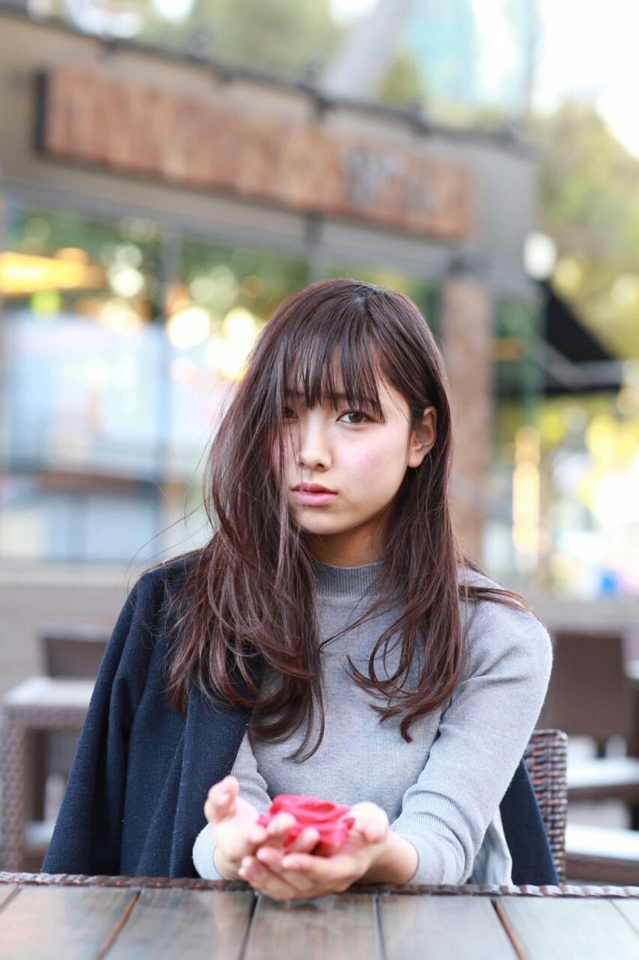 ゆるふわ ナチュラル パーマ ロング ヘアスタイルや髪型の写真・画像 | miki /