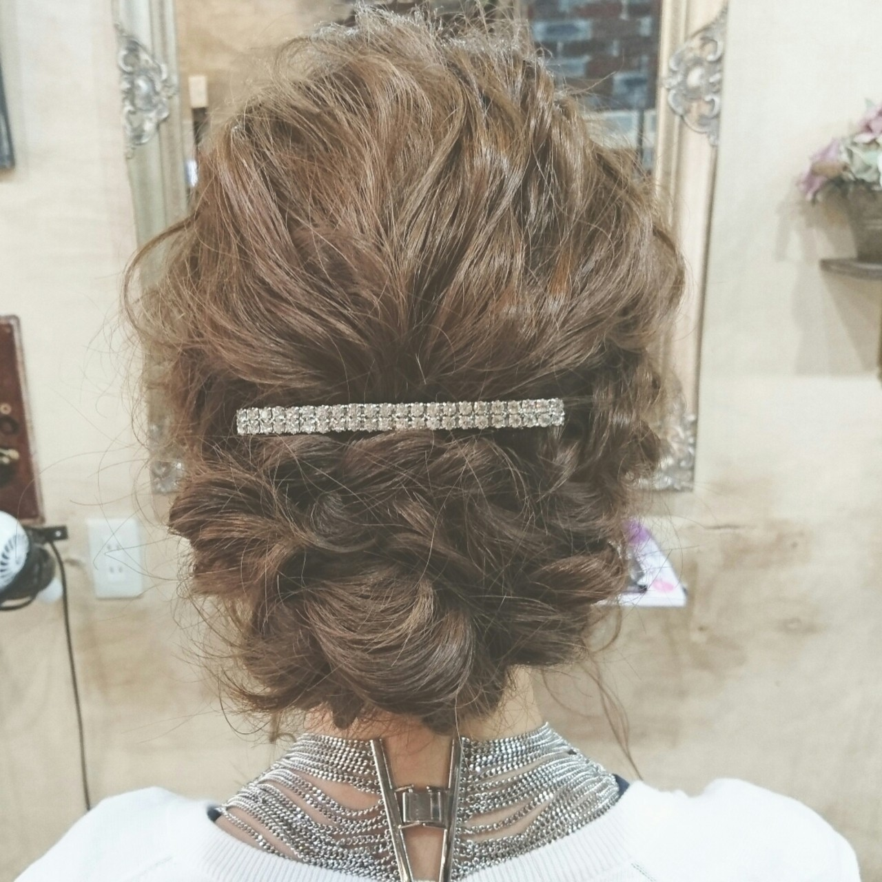 波ウェーブ ゆるふわ 大人かわいい セミロング ヘアスタイルや髪型の写真・画像