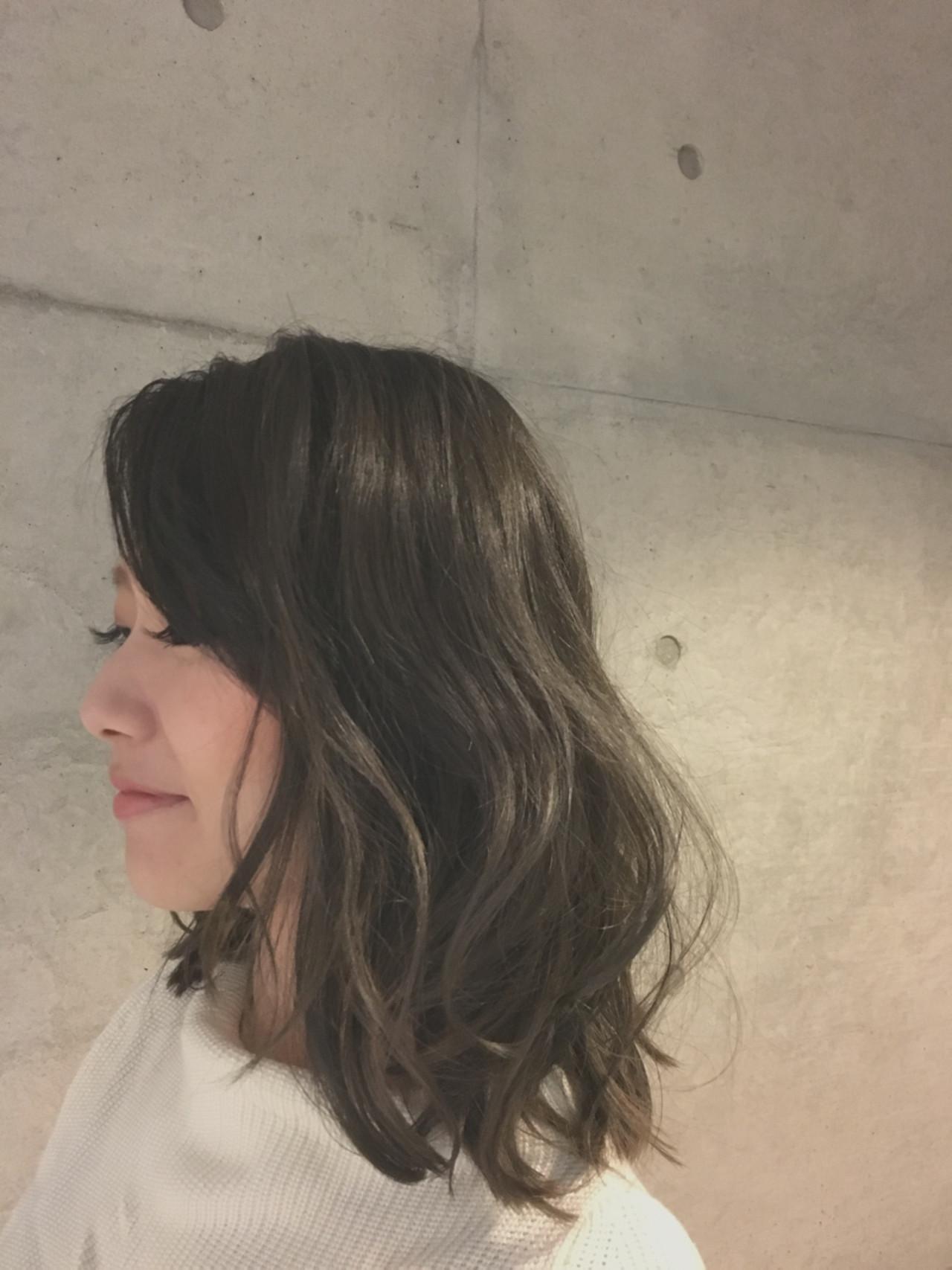 ゆるふわ ナチュラル 外国人風 アッシュ ヘアスタイルや髪型の写真・画像 | Sayaka / diptyMOILA
