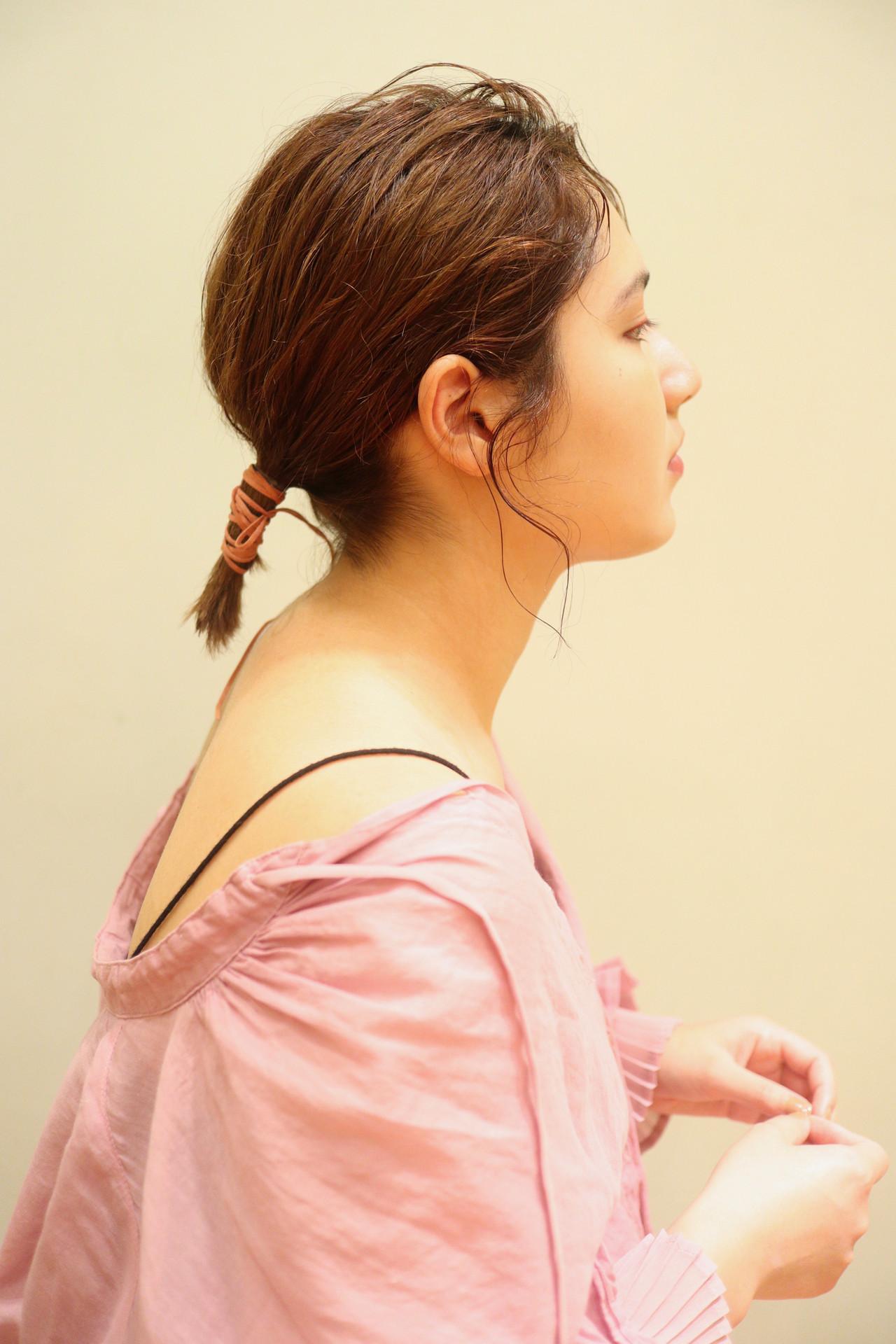 切りっぱなしボブ ボブアレンジ ボブ ヘアアレンジ ヘアスタイルや髪型の写真・画像 | 小林 奈緒 / BEAUTRIUM