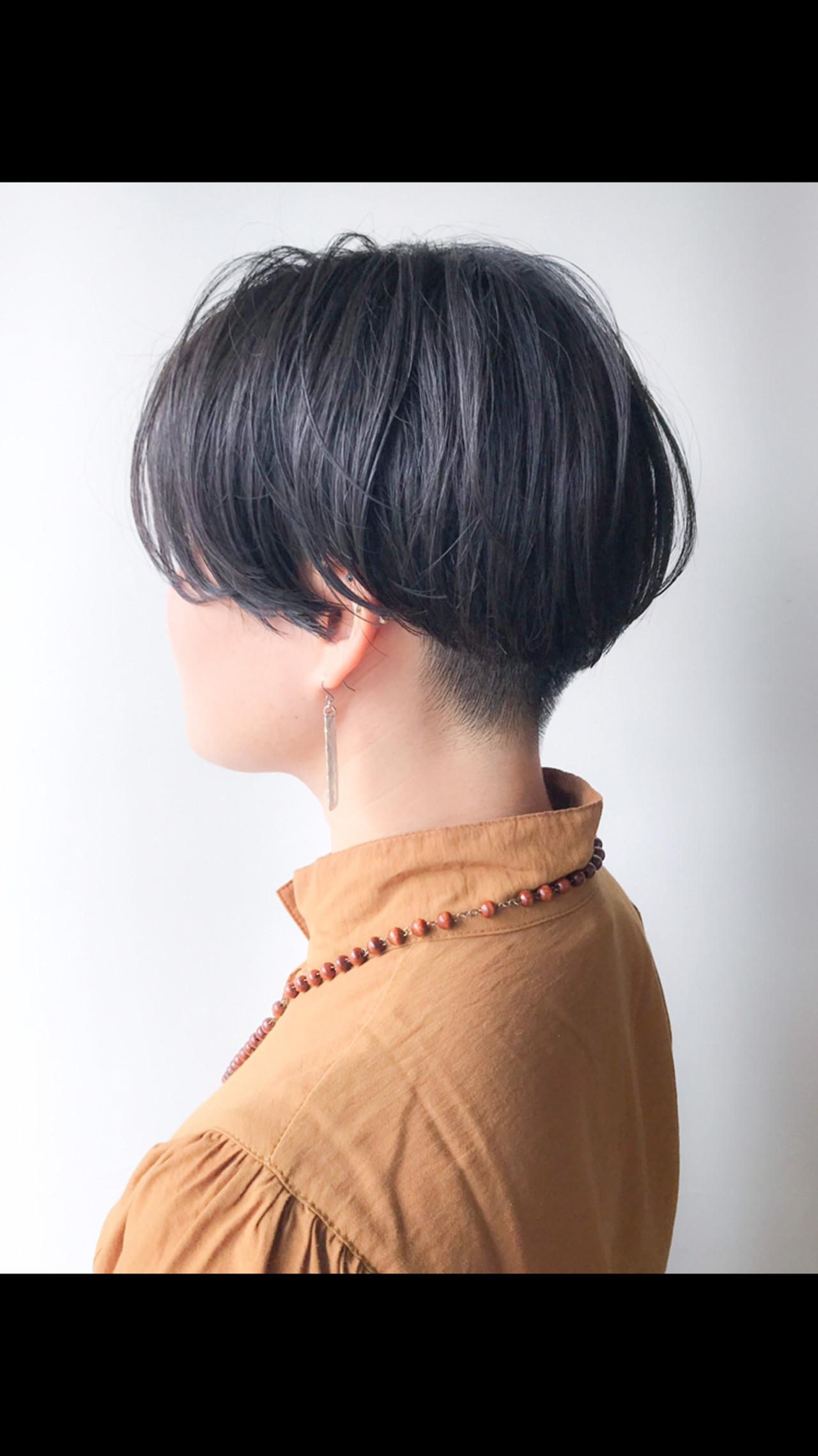 刈り上げショート 刈り上げ ショート モード ヘアスタイルや髪型の写真・画像