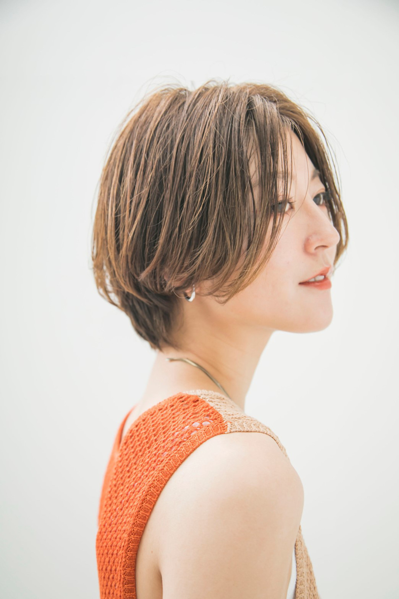 ショート オフィス ナチュラル 愛され ヘアスタイルや髪型の写真・画像 | 國武泰志 / Cloe