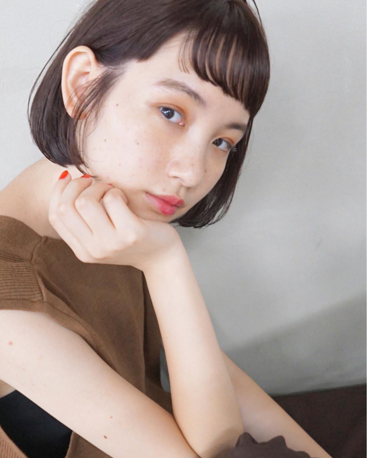 リラックス 秋 ストレート パーマ ヘアスタイルや髪型の写真・画像   UEKI/nanuk / nanuk二子玉川