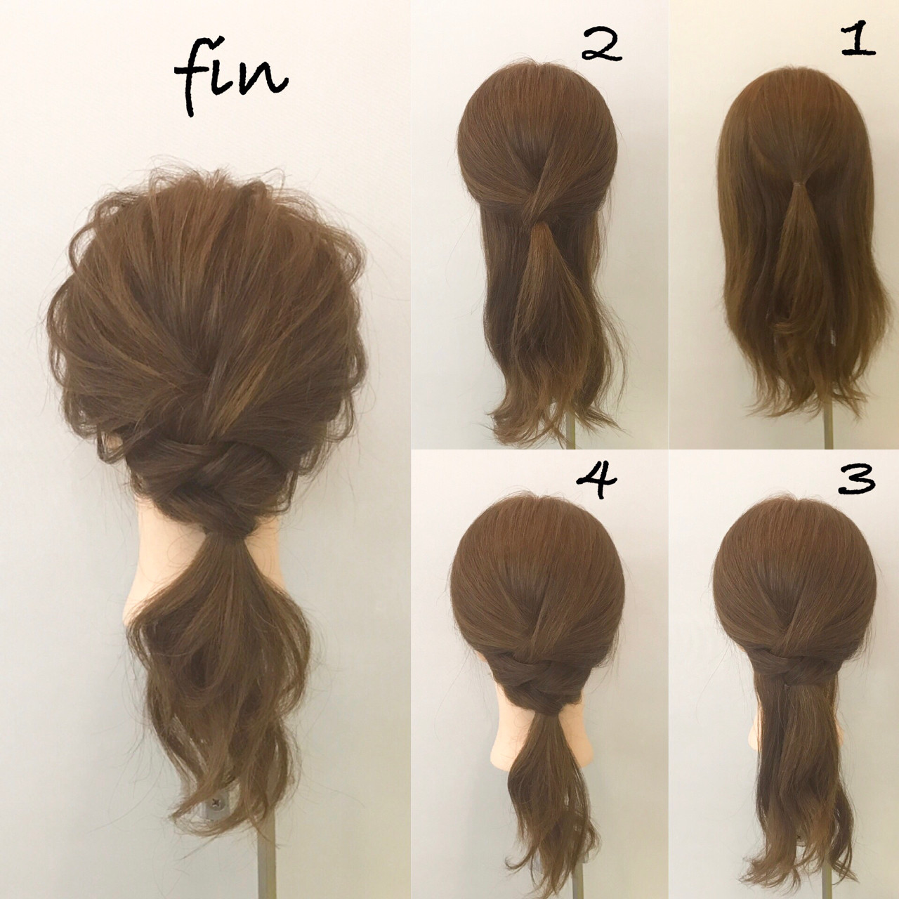 ヘアアレンジ ミディアム ナチュラル デート ヘアスタイルや髪型の写真・画像 | 新谷 朋宏 / Free hairstylist shinya