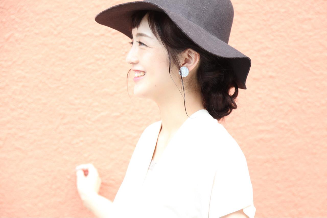 ロング ヘアアレンジ ルーズ 秋 ヘアスタイルや髪型の写真・画像