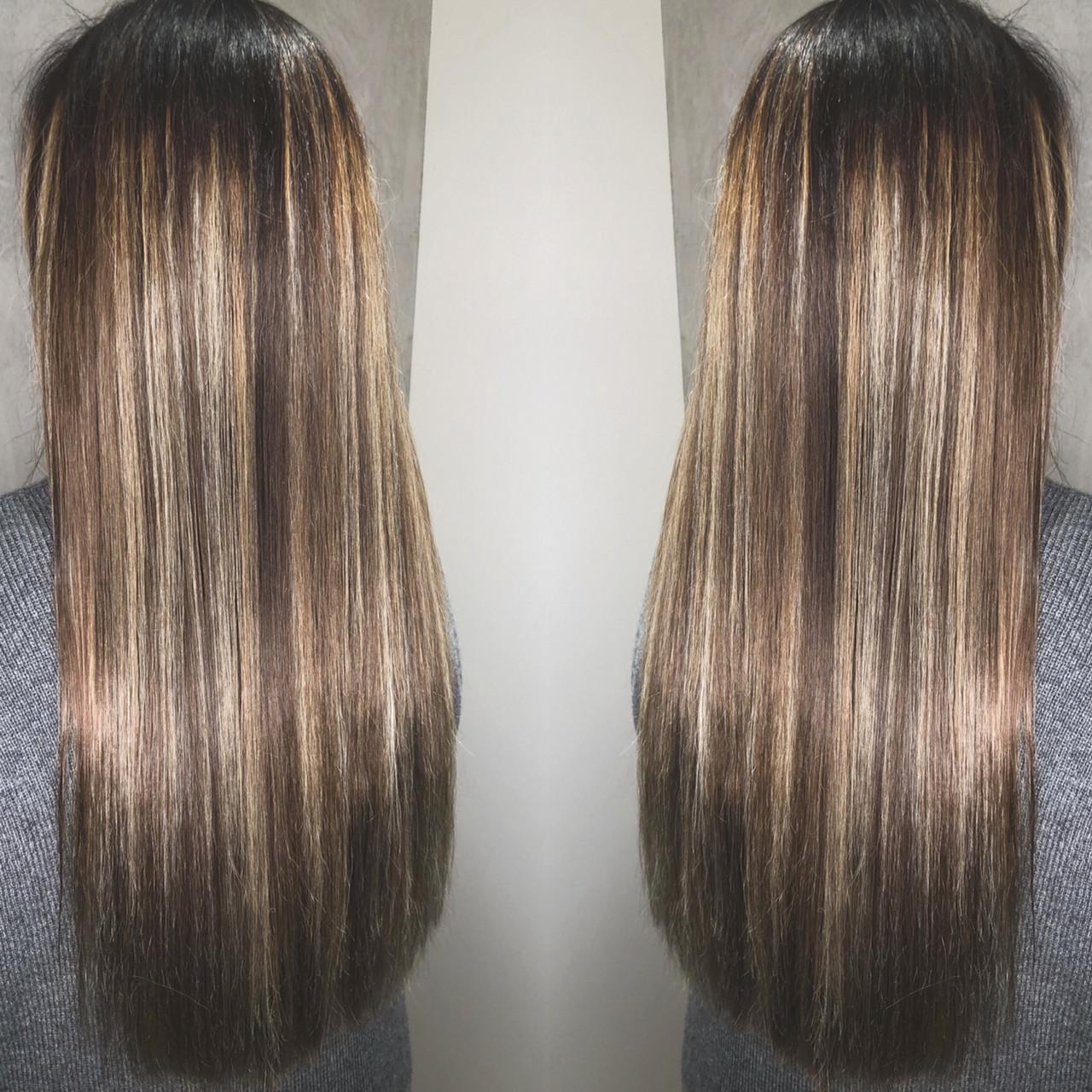 エレガント 外国人風 アッシュ グラデーションカラー ヘアスタイルや髪型の写真・画像   筒井 隆由 / Hair salon mode
