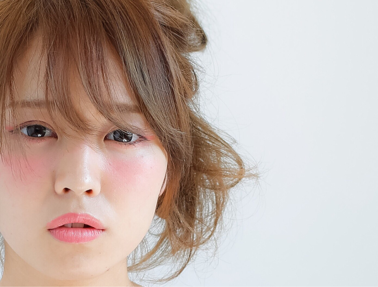 簡単ヘアアレンジ ヘアアレンジ ショート ピュア ヘアスタイルや髪型の写真・画像