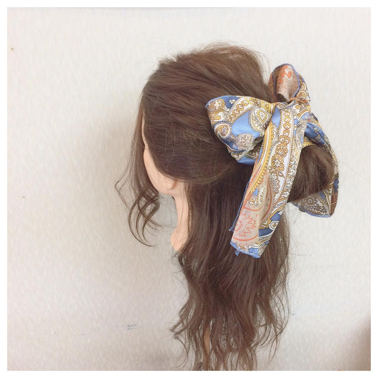 ハーフアップ 結婚式 ヘアアレンジ 簡単ヘアアレンジ ヘアスタイルや髪型の写真・画像