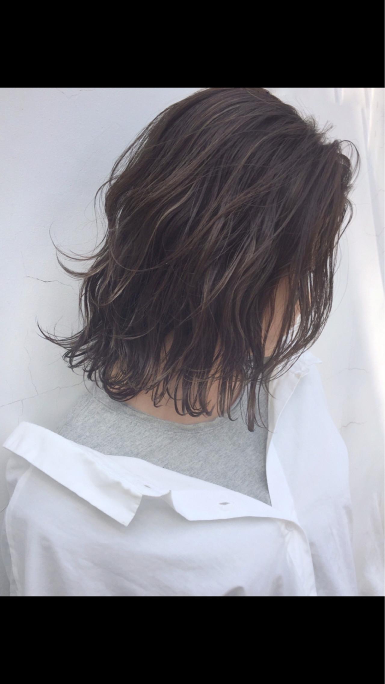 ボブ 外国人風 ロブ 透明感 ヘアスタイルや髪型の写真・画像