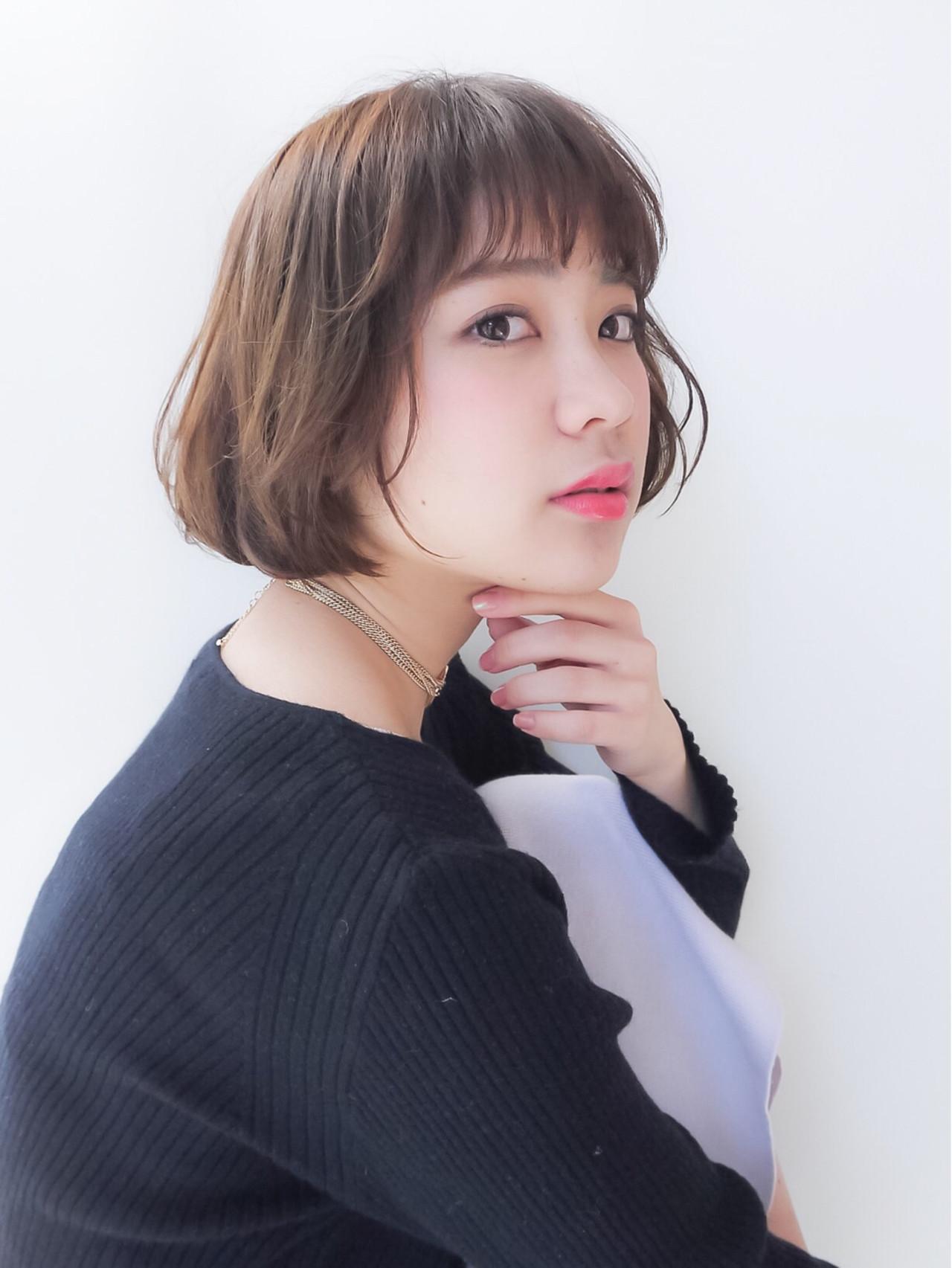大人かわいい 外ハネ コンサバ アンニュイ ヘアスタイルや髪型の写真・画像 | HIROKI / roijir / roijir